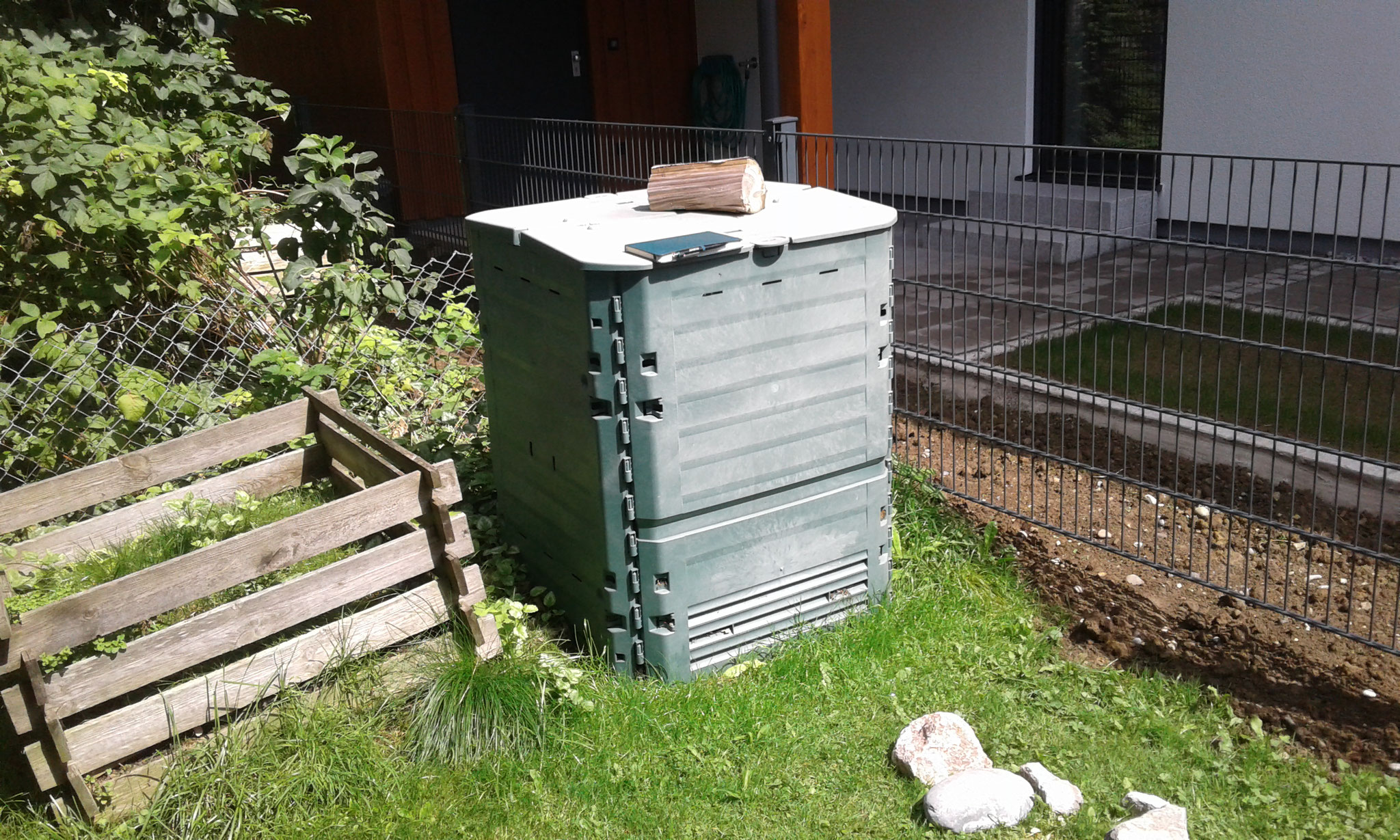Beet-Neuanlage in Nesselwang - VORHER