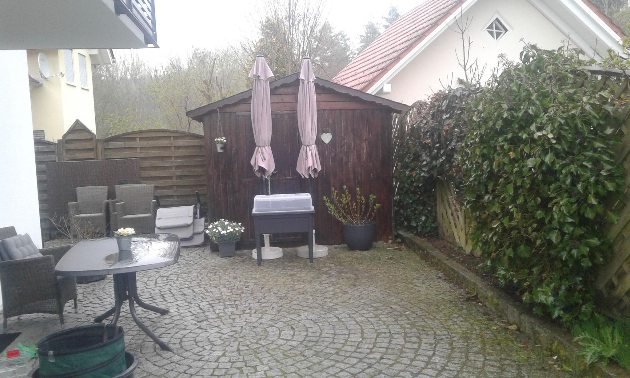 Gartenprojekt Wangen 2017 - VORHER