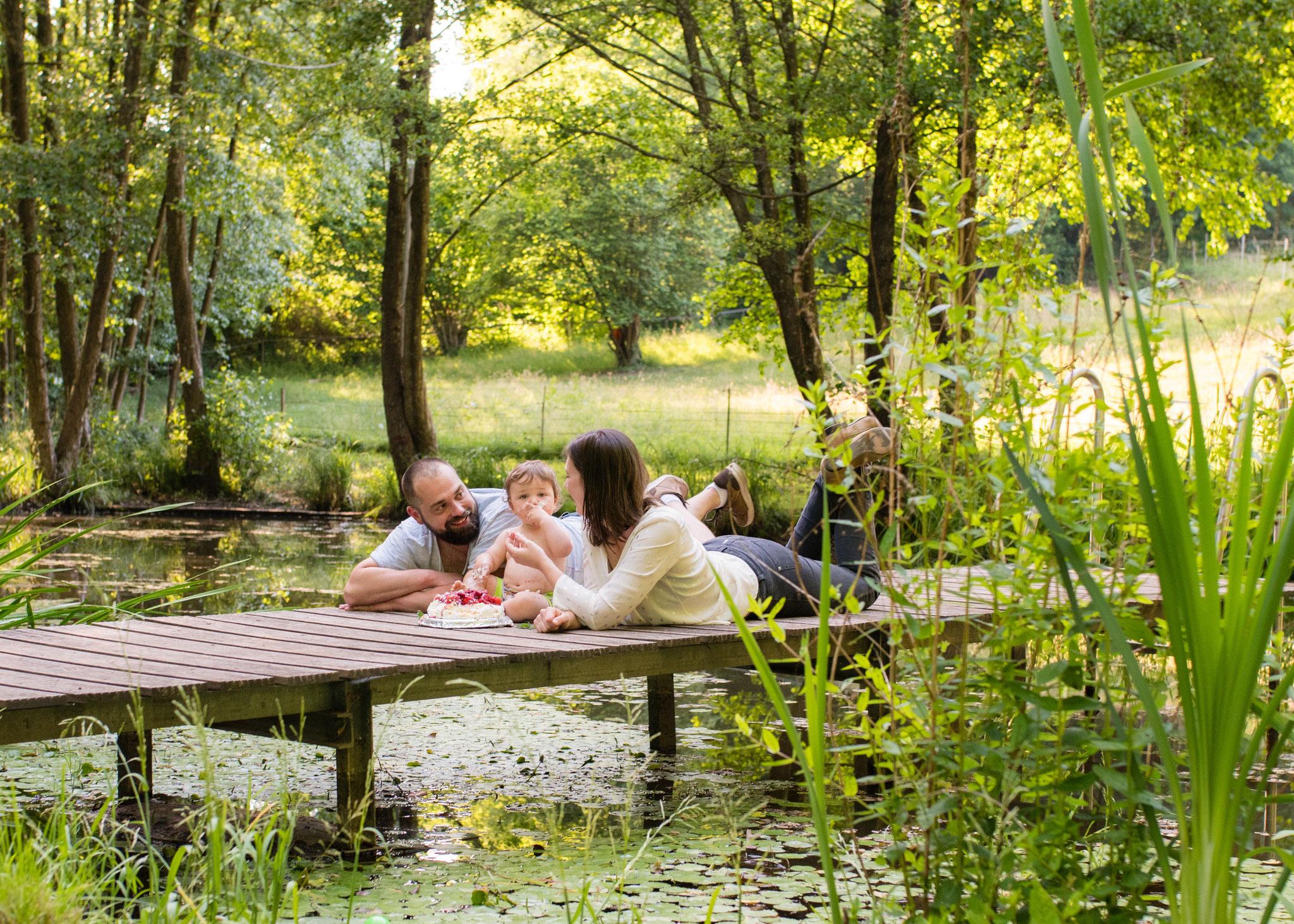 natürliche Familienbilder Saarbrücken