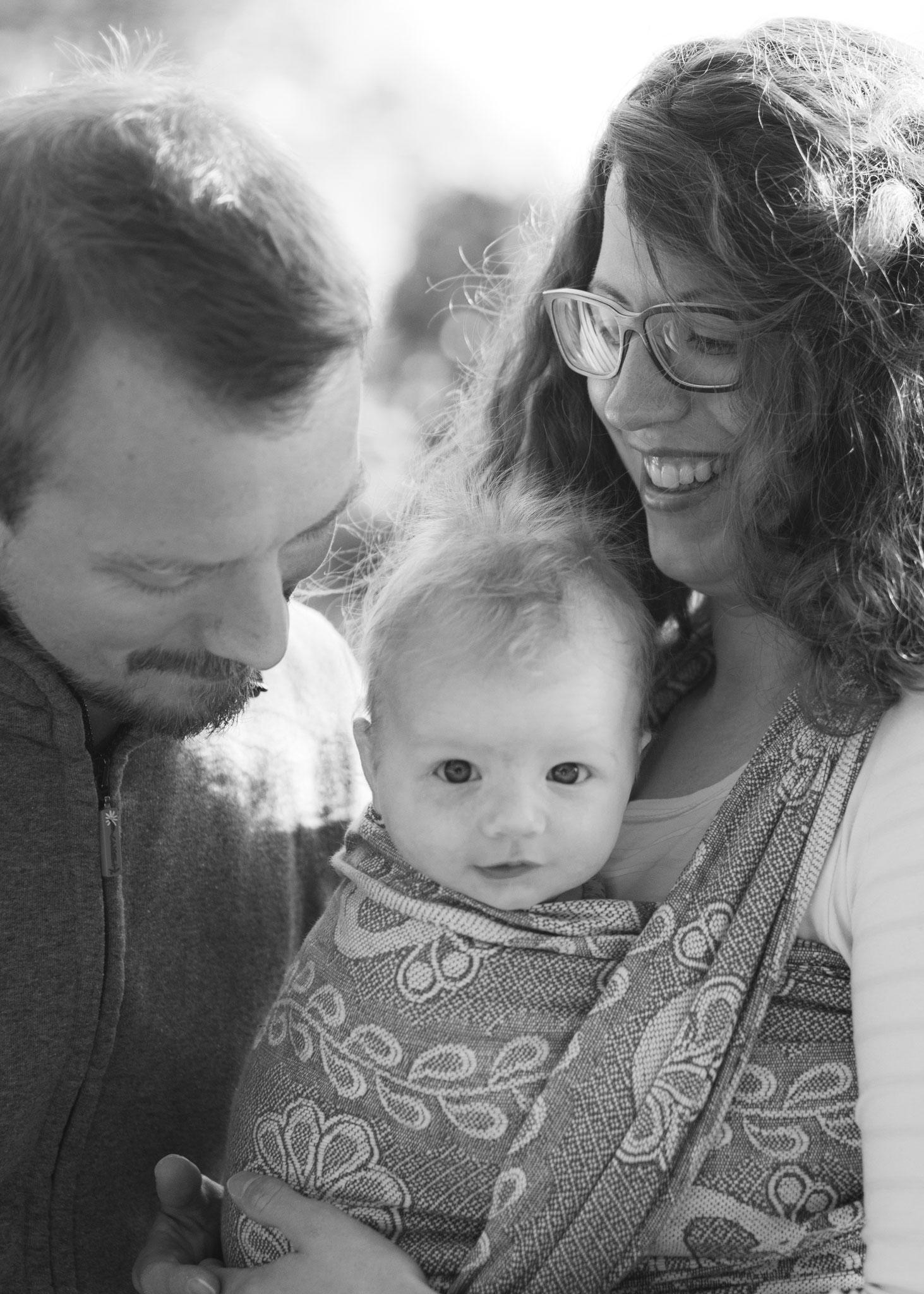 natürliche authentische Familienbilder Saarland