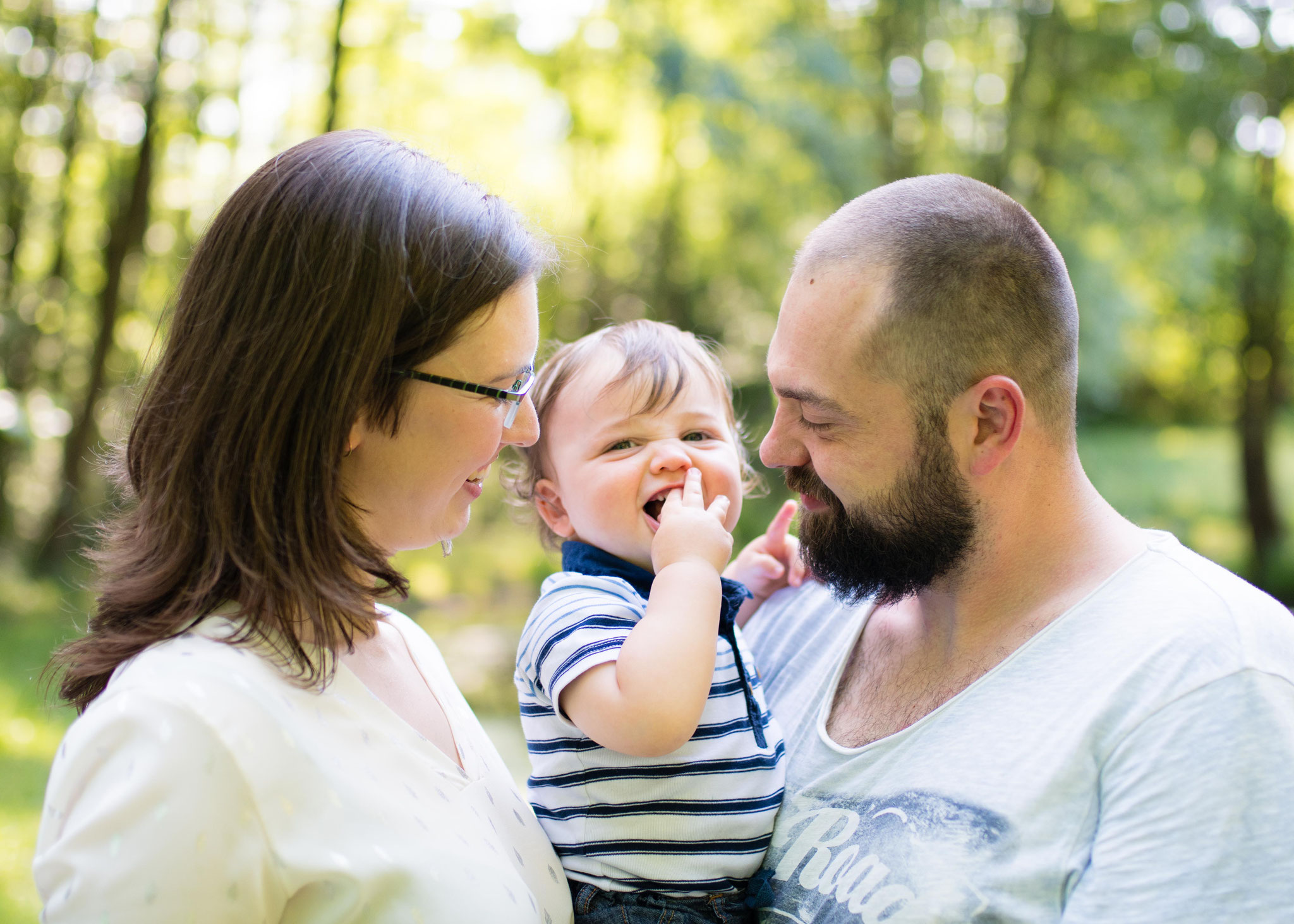natürliche, authentische Familienbilder Saarland