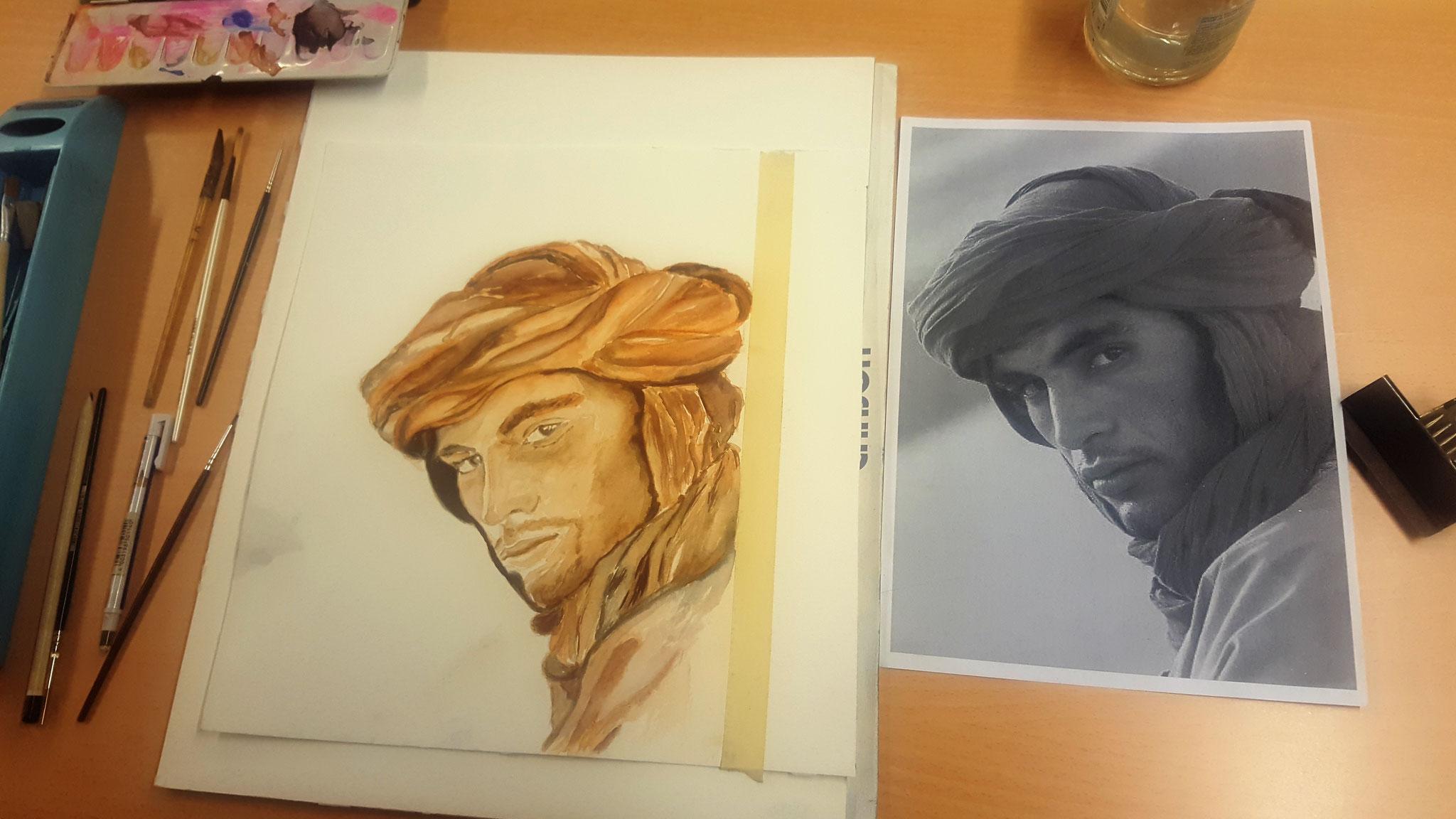 Les cours de portrait reprennent ! Rendez-vous dès ce mercredi 06/09 au sein de Maison de la Laïcité d'Angleur, Chênée et Grivegnée entre 14h et 16h .
