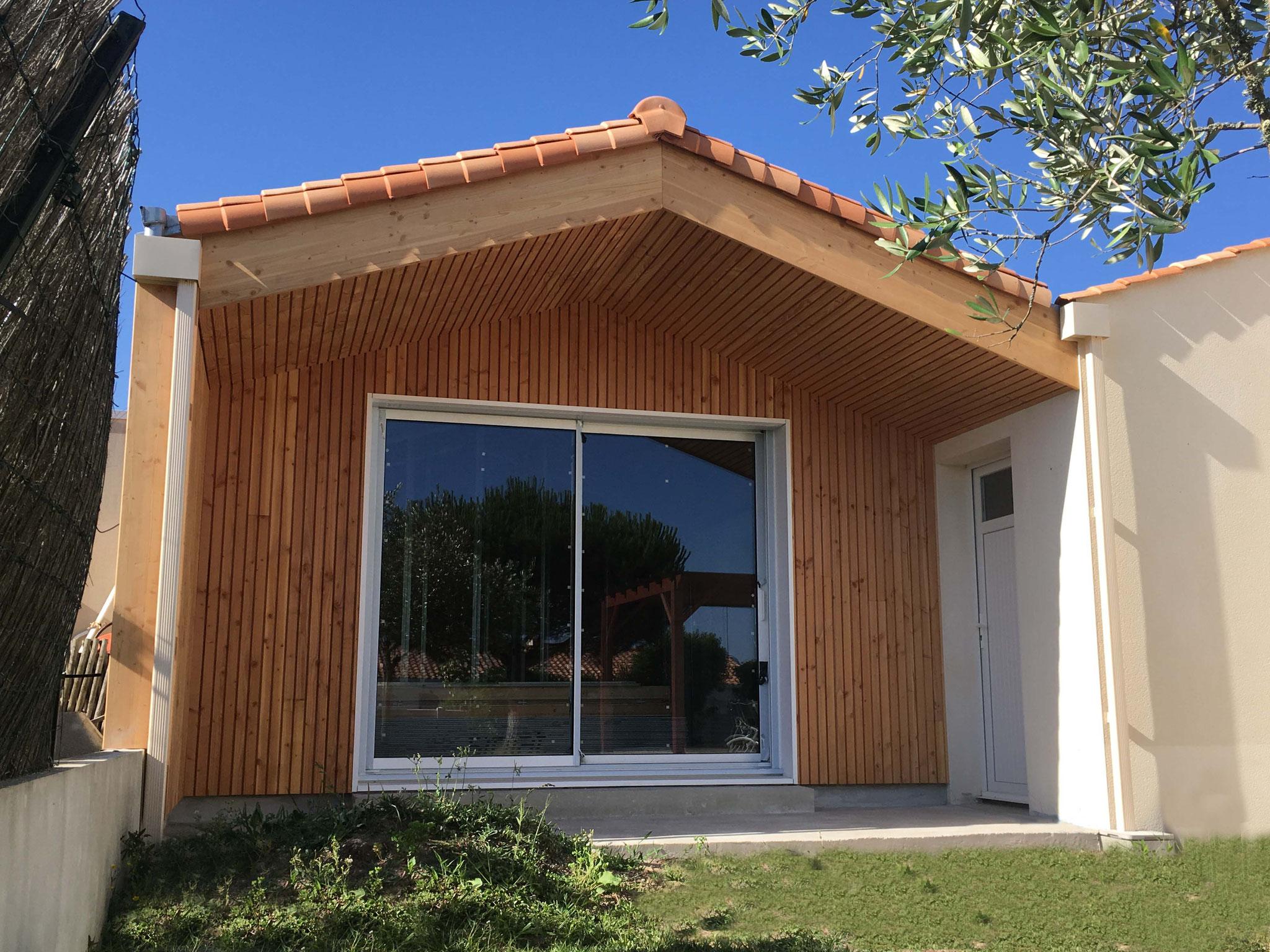 Extension d'une habitation à Olonne-sur-Mer