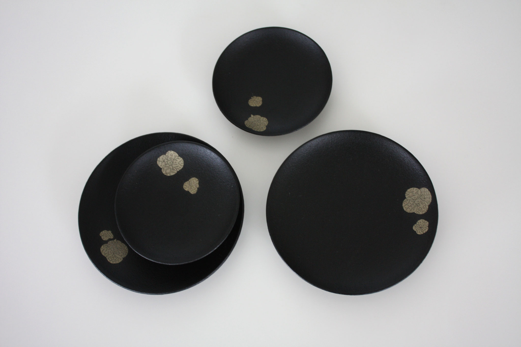 "Small plate set ""memory"""