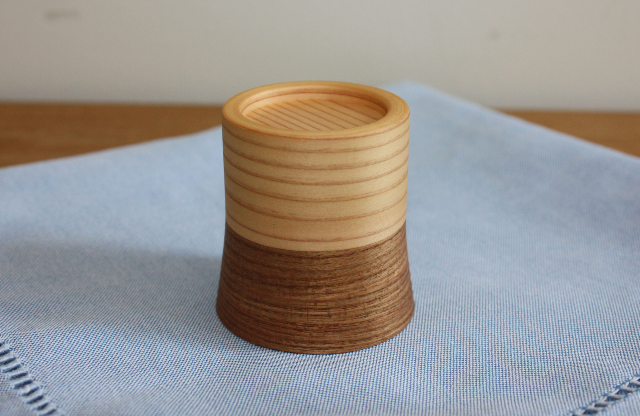 jointed sake cup