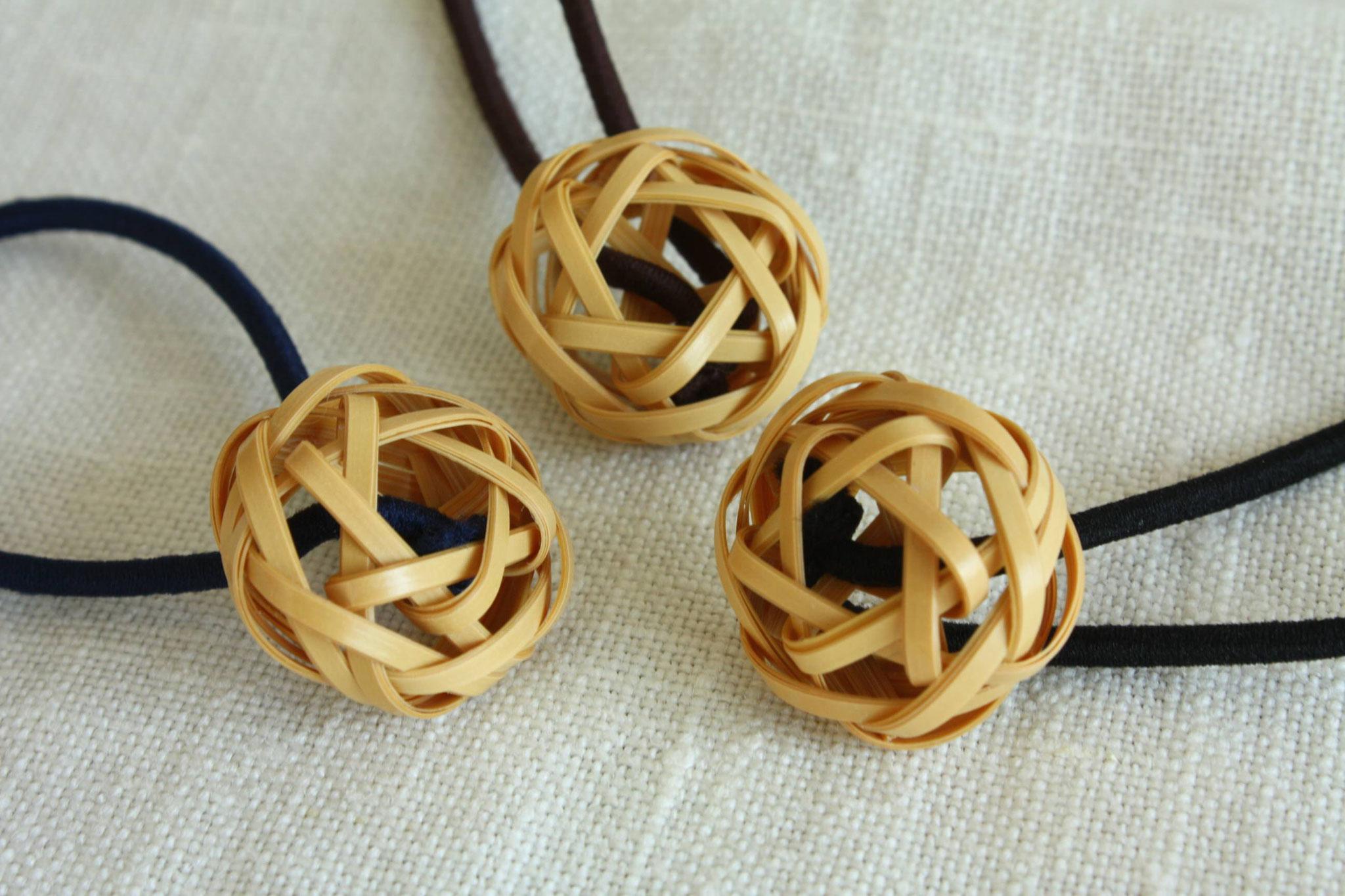 bamboo hair tie natural