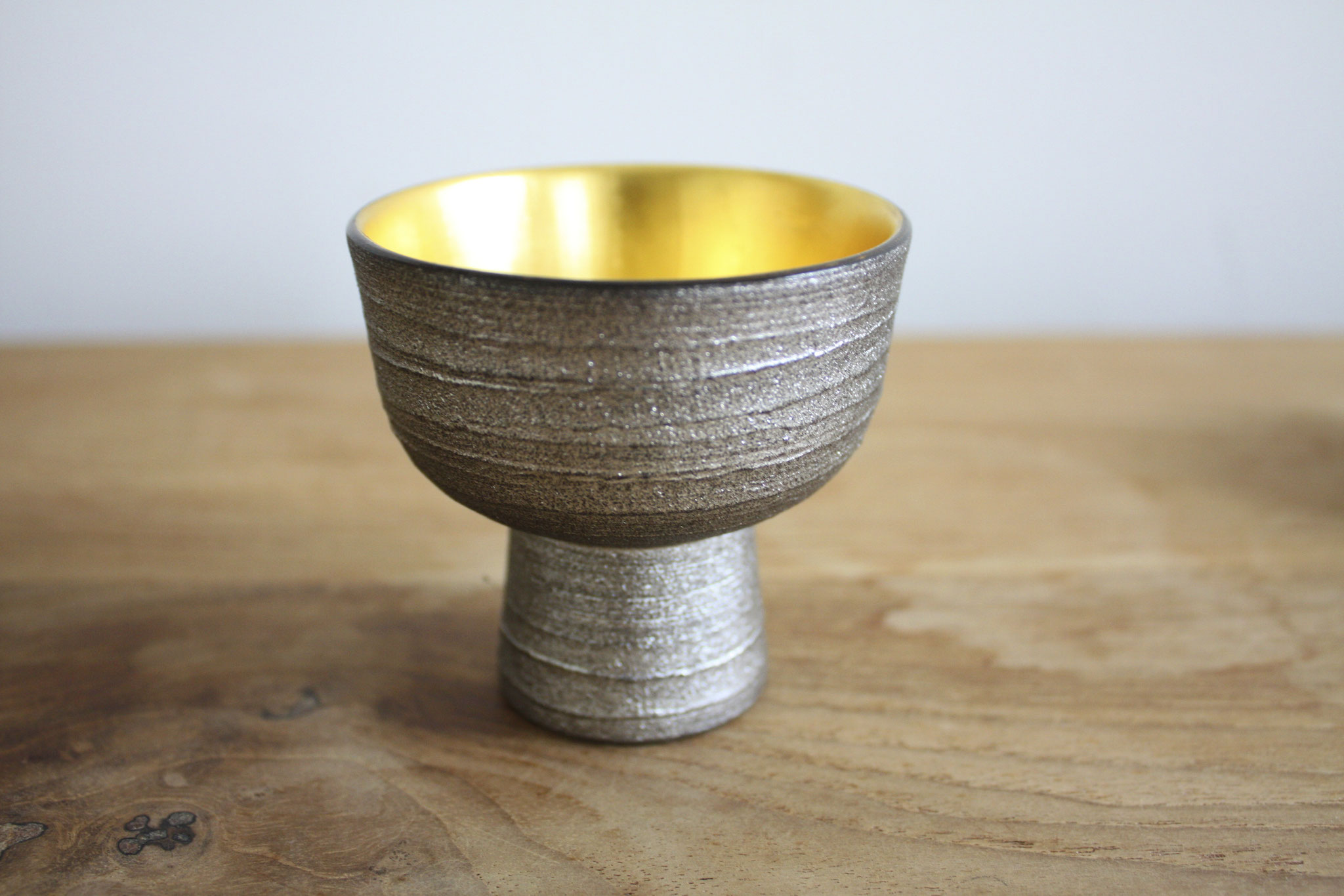 rusty sake cup high