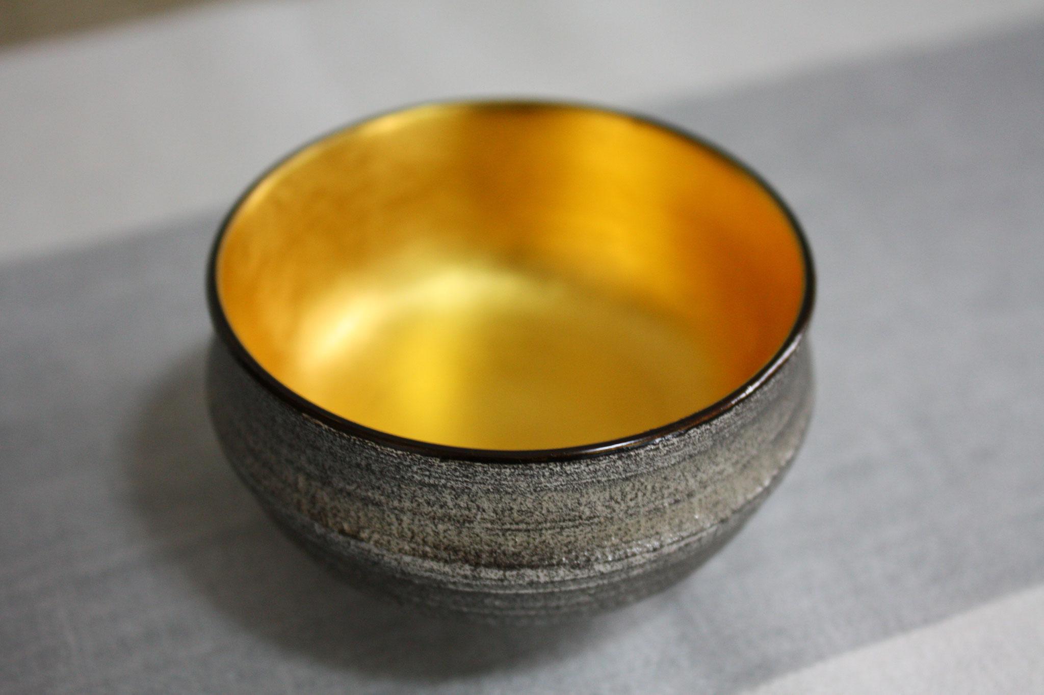 rusty sake cup