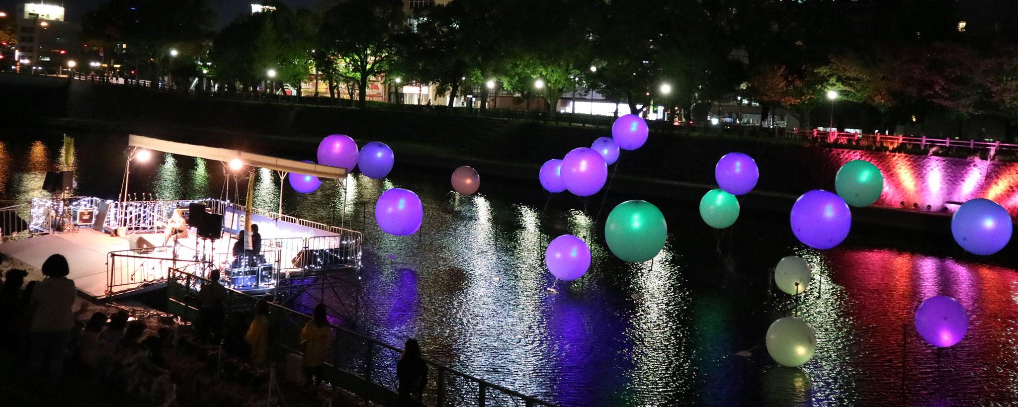 甲突川水辺のフェスティバル2017