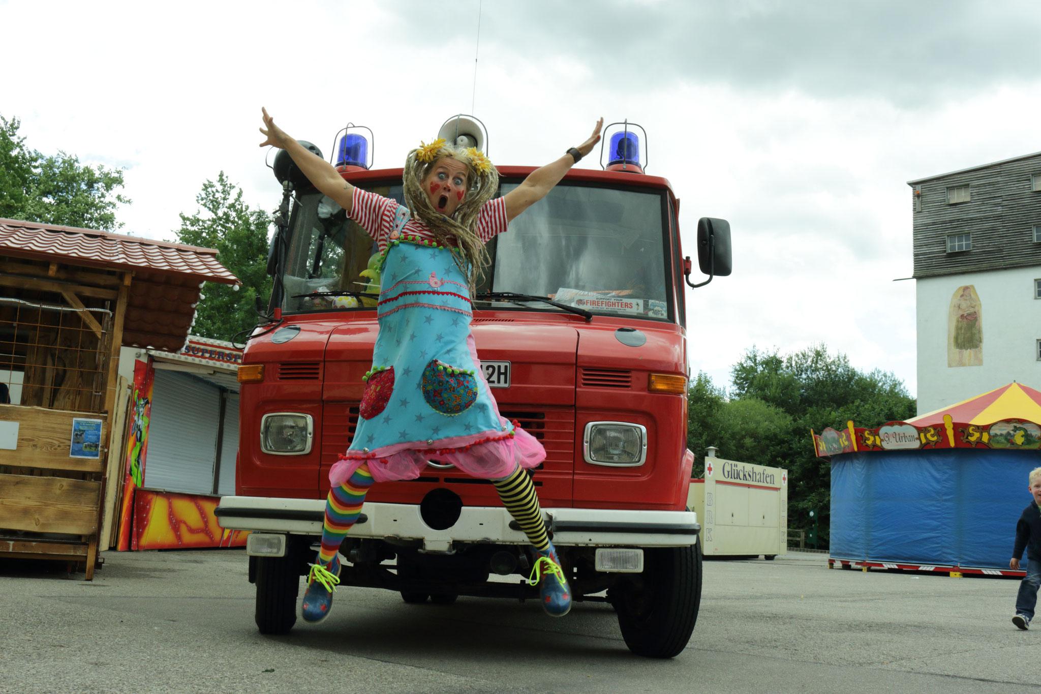 Lotti, meine bunte Feuerwehr