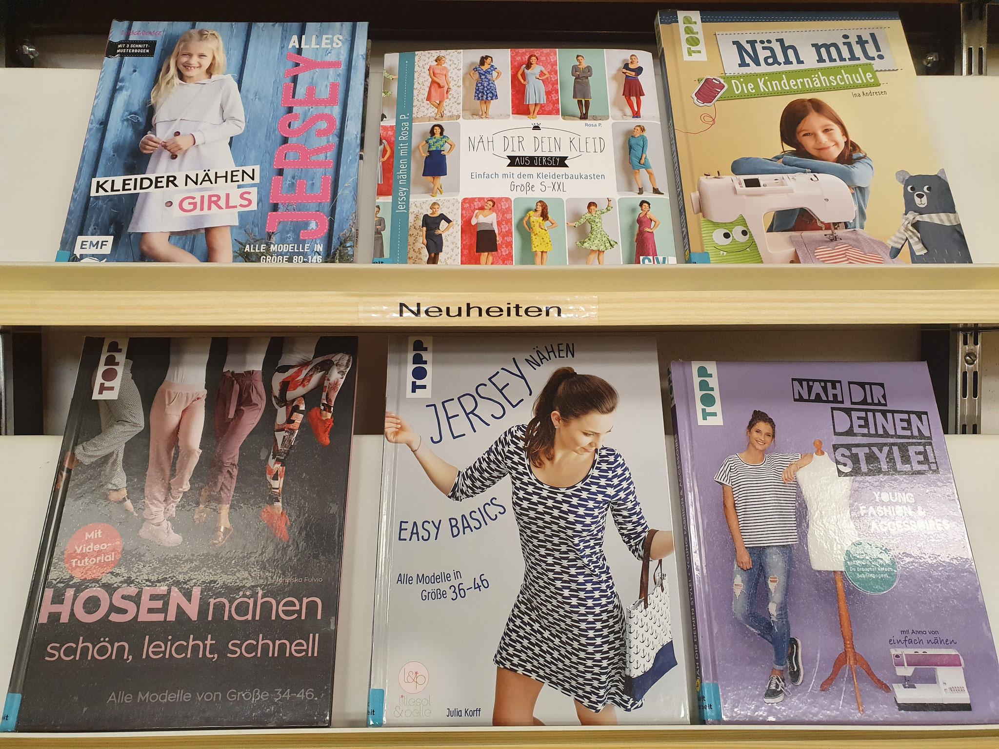 Neue Nähbücher