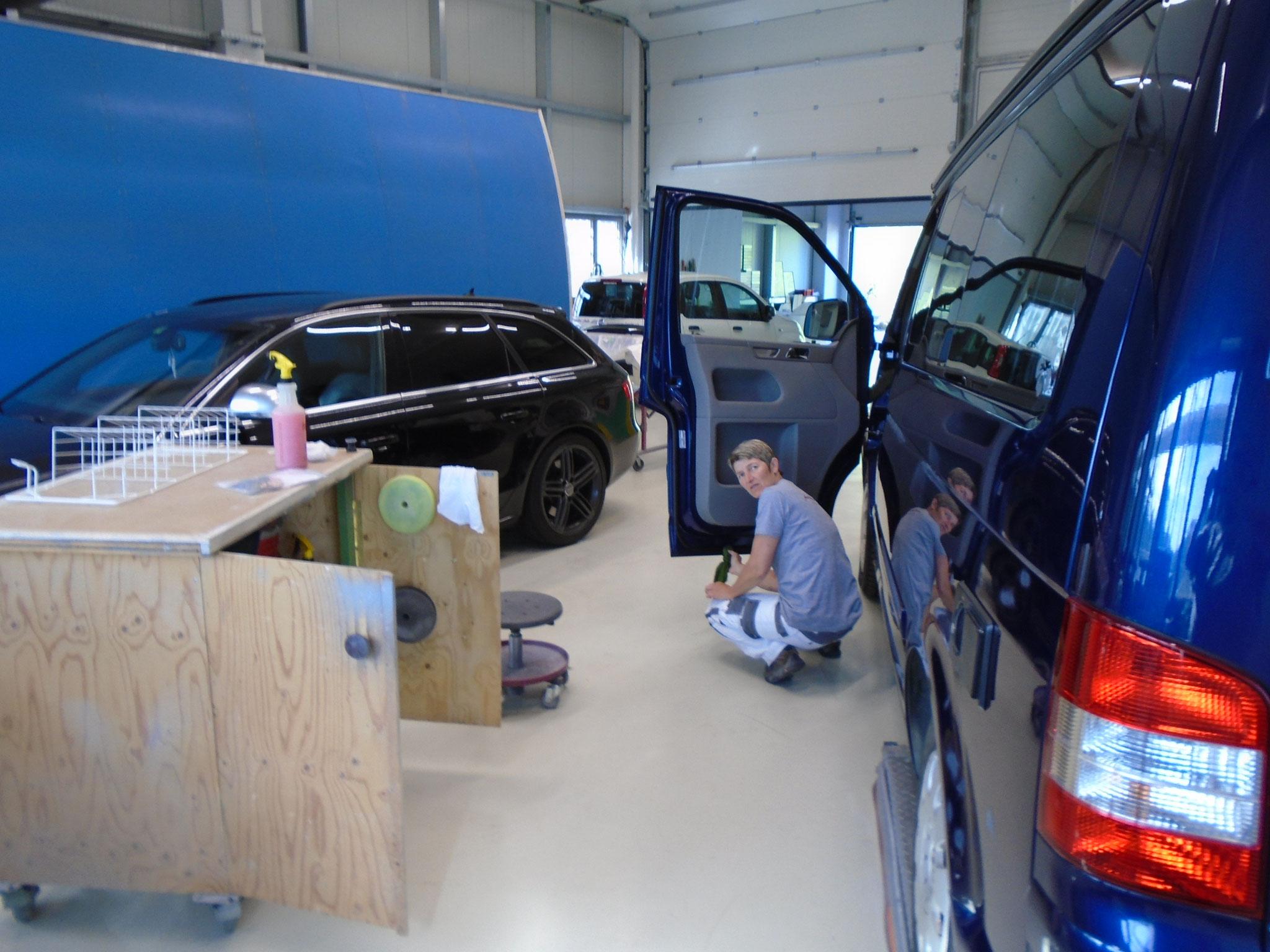 einwandfreier Service bei der Automalerei Hasler