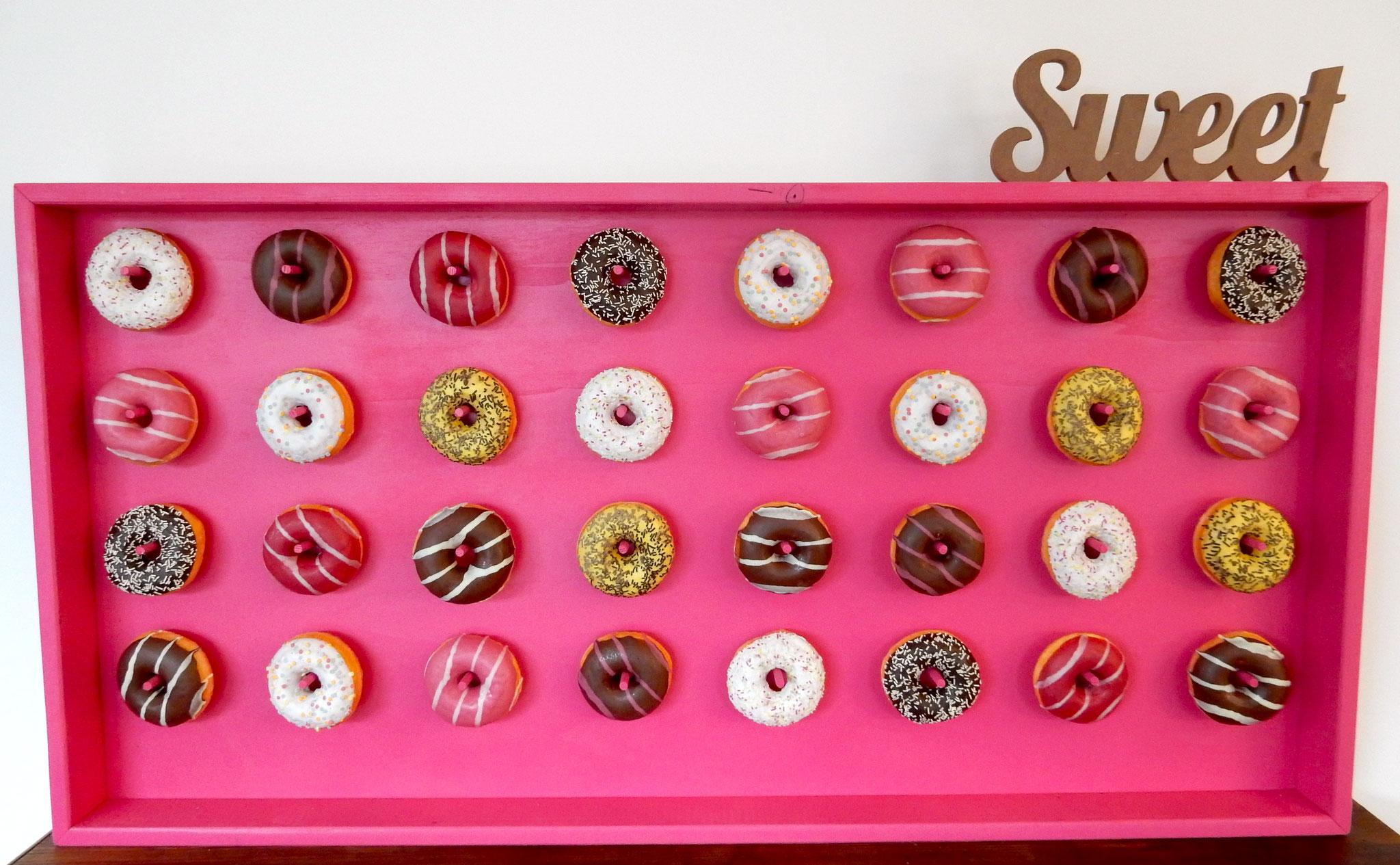 "Donutwall ""Pink""-fruchtbar mobil"