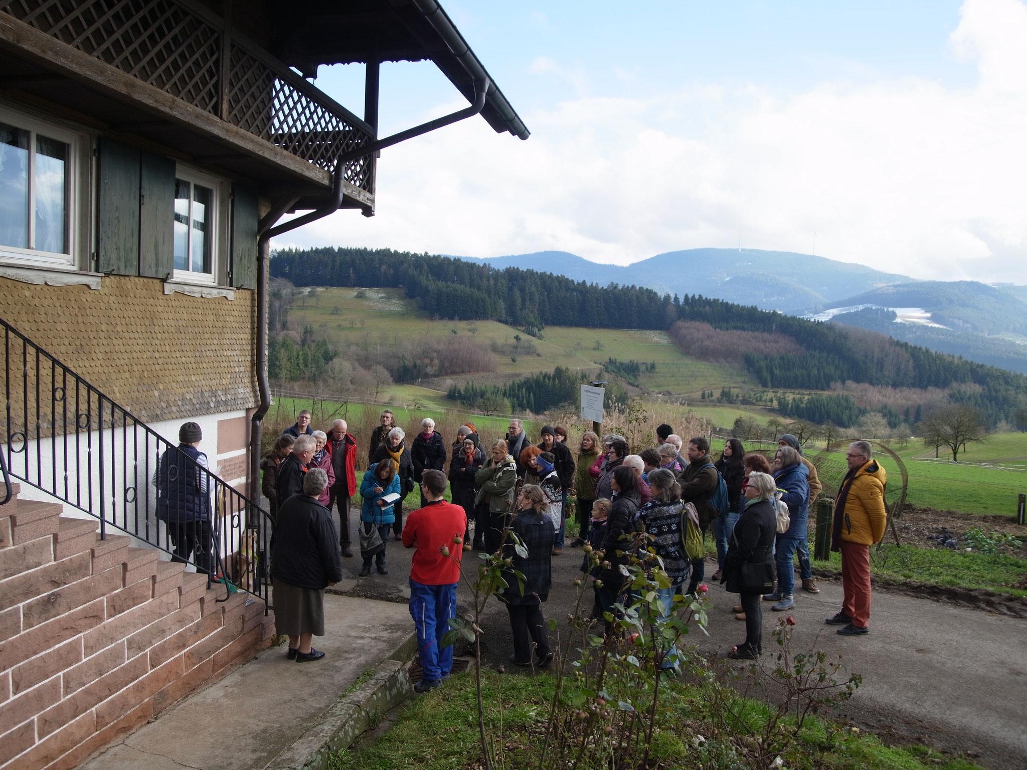 Informationen über die Geschichte des Bühlhofes.