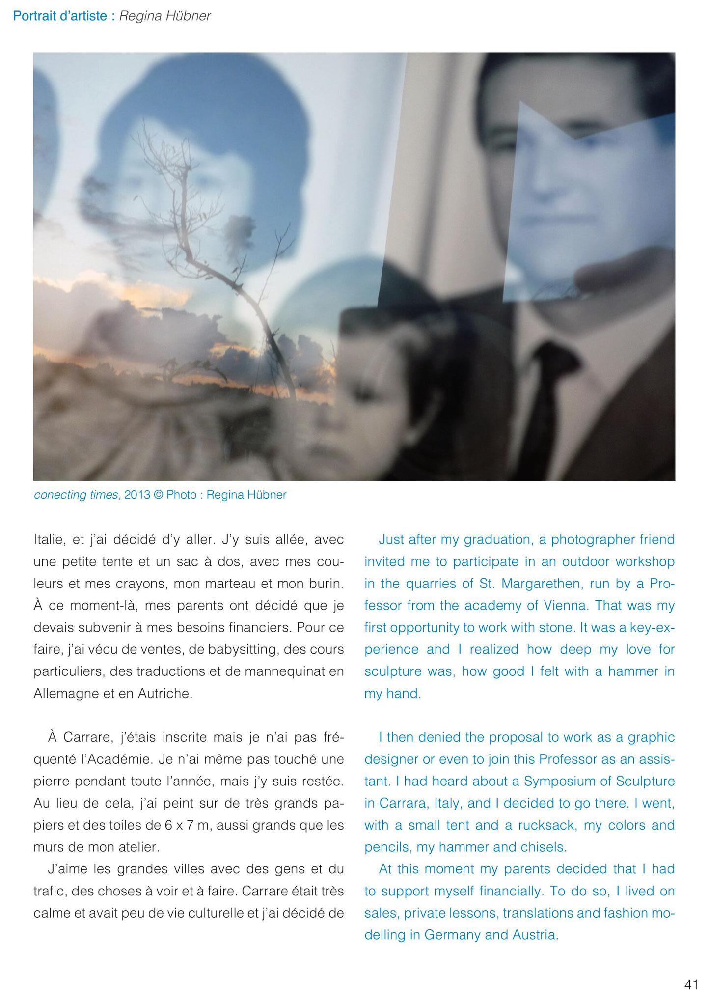 Gabriel Soucheyre, interview with Regina Hübner