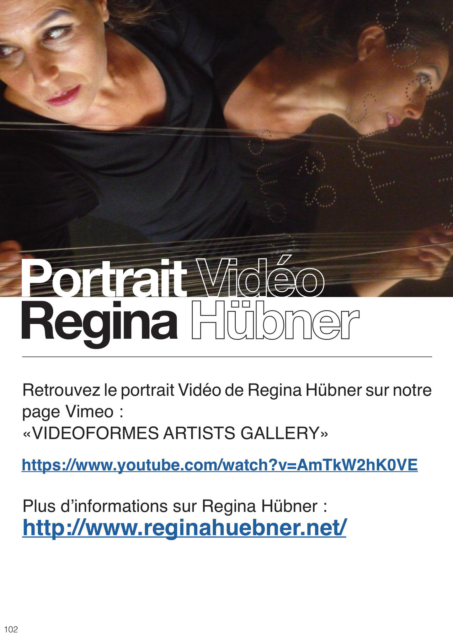 Portrait Vidéo Regina Hübner