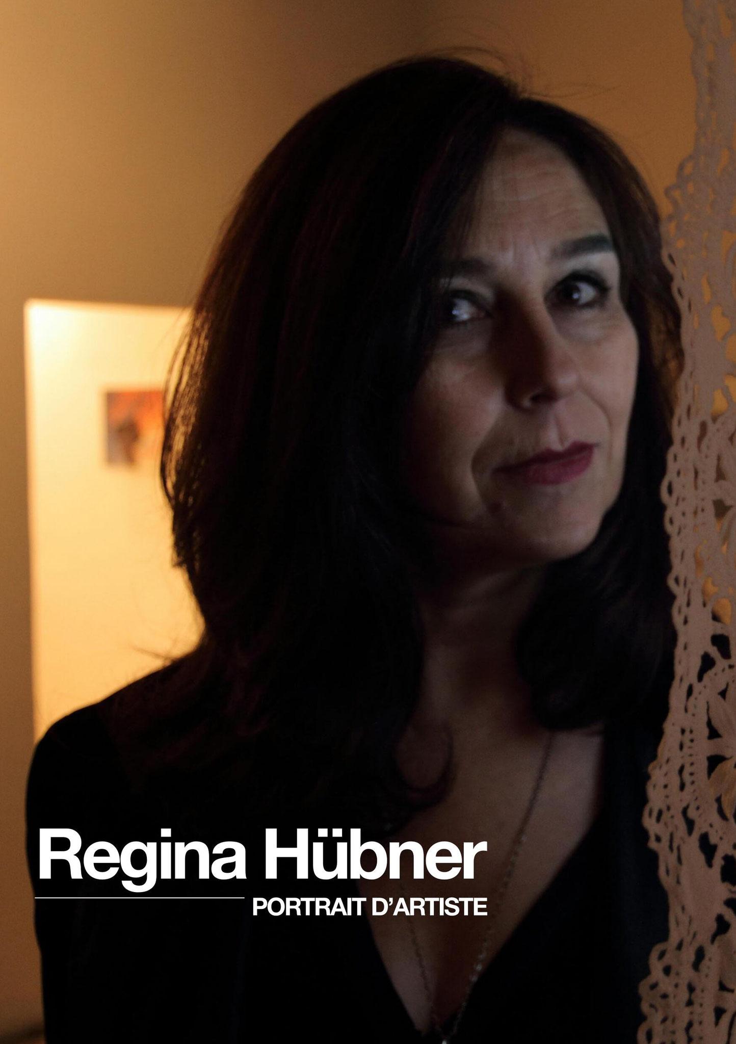 Turbulences Vidéo #102, Portrait Regina Hübner