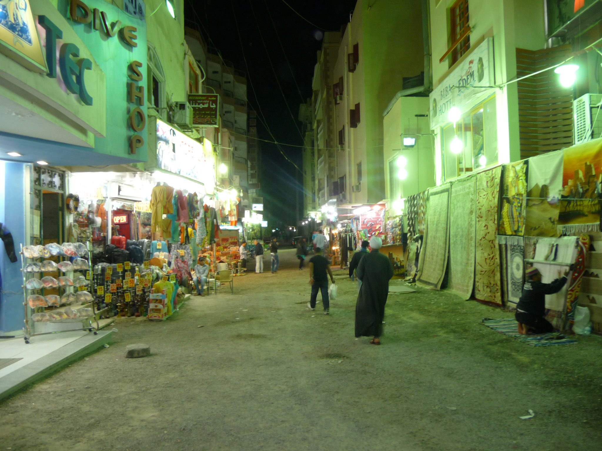 Sakalla bei Nacht