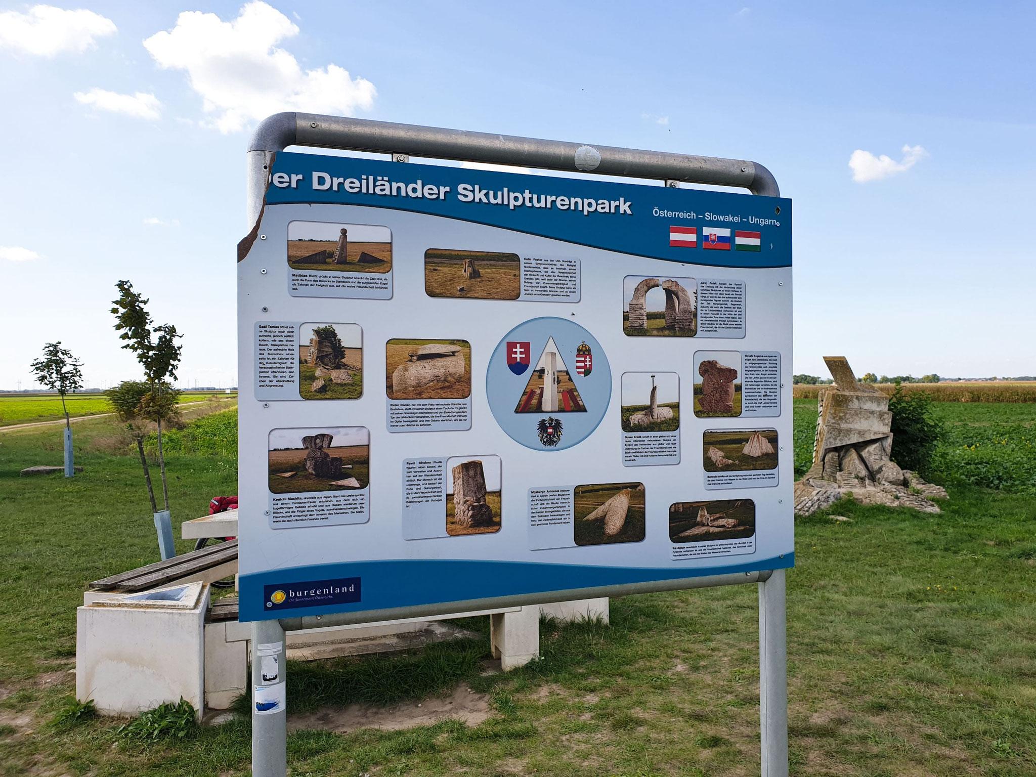 Am Dreiländereck Österreich-Ungarn-Slowakei