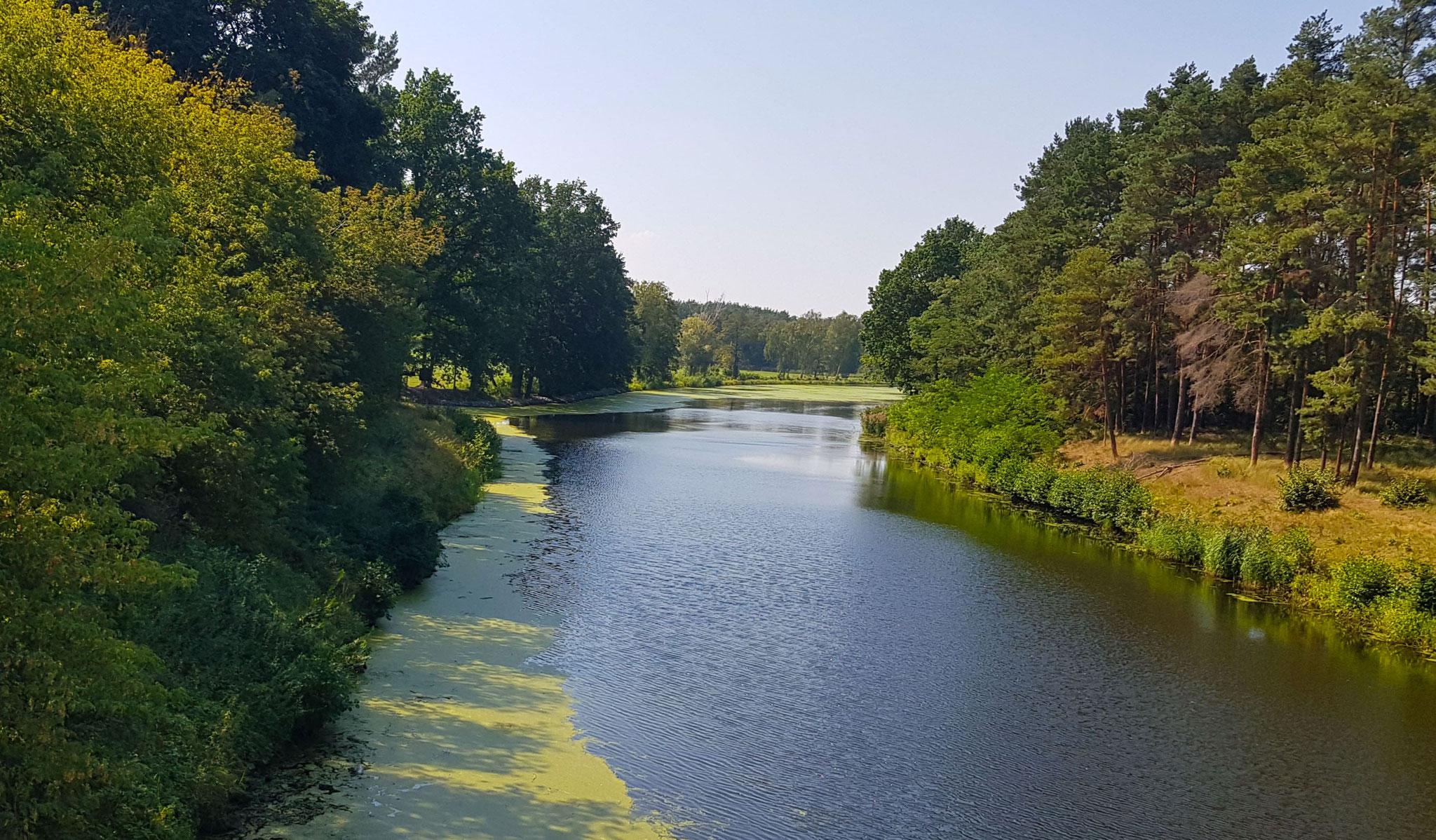 Oder-Spree-Kanal von der Brücke geknipst