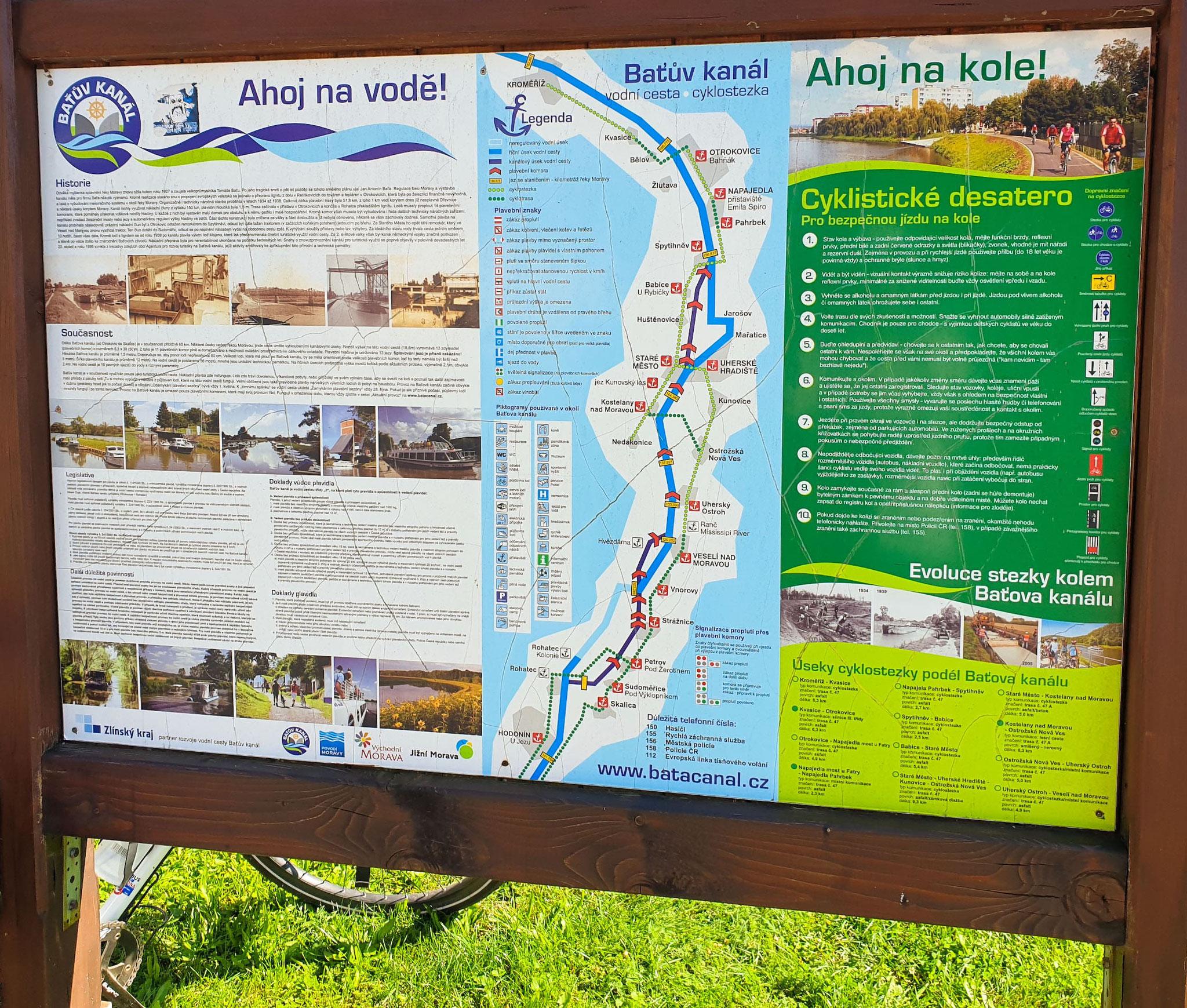 Bata-Kanal, Ba'tuv kanál, Info