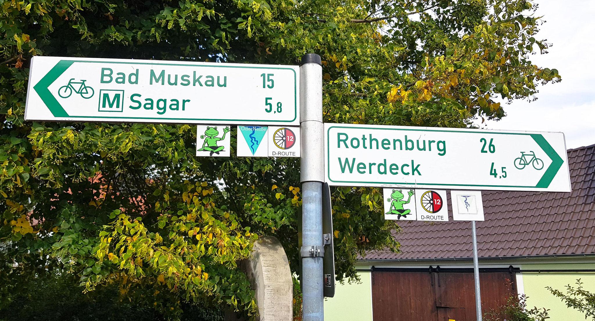15 km hinter Bad Muskau! Bald am Ziel