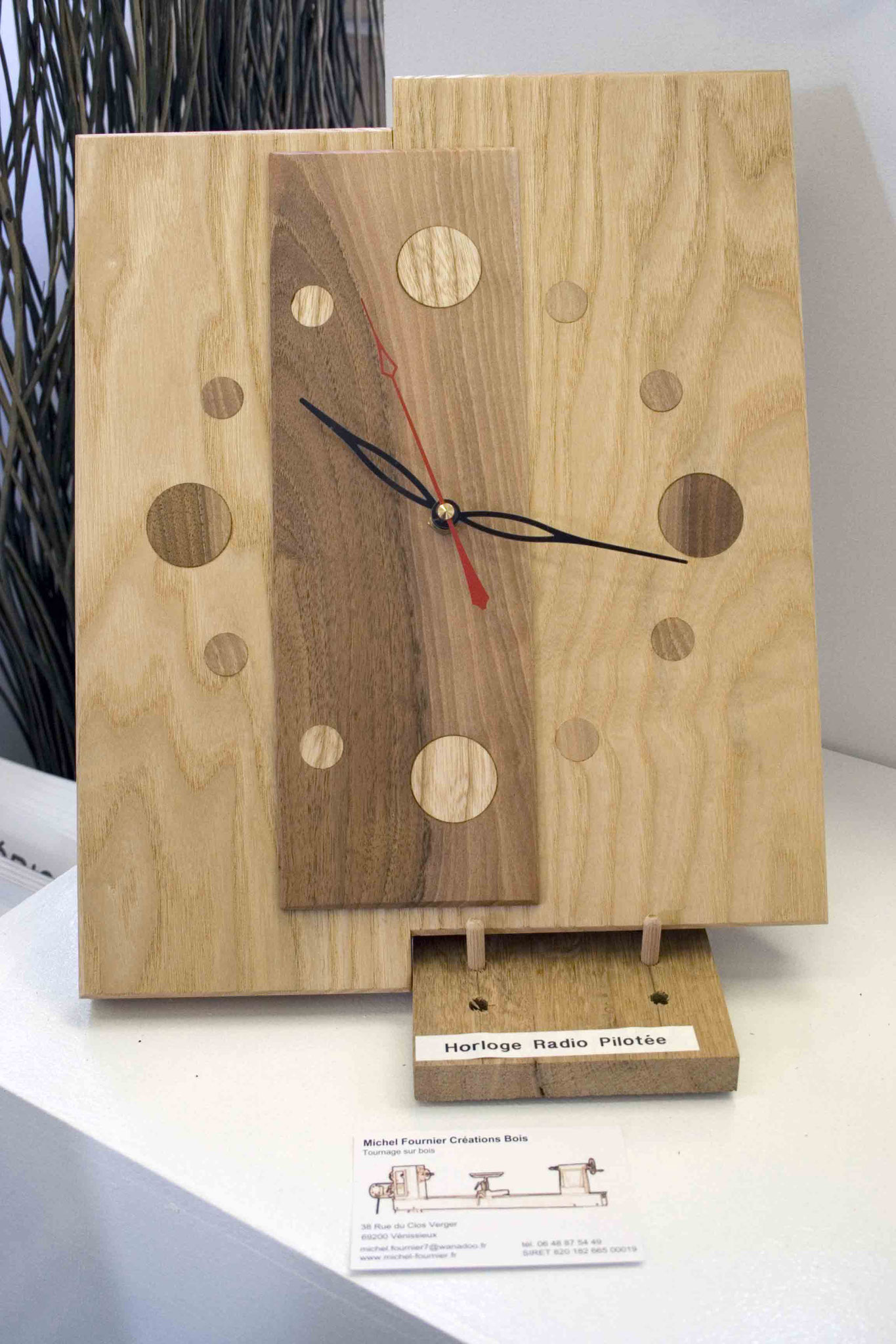 Horloge radio-pilotée