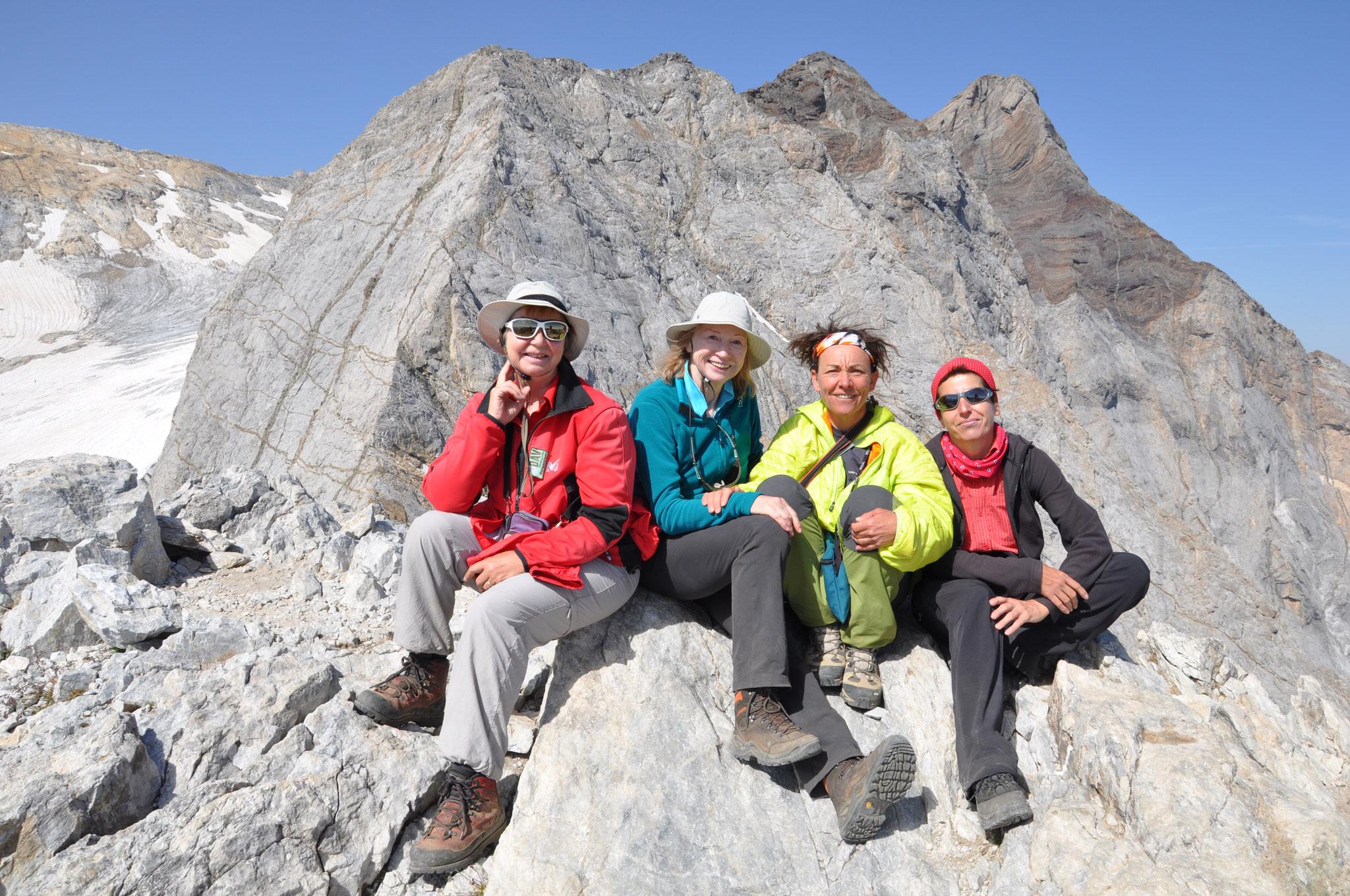 Petit Vignemale Pyrénnées Gipfel Trekking pour une agence allemande