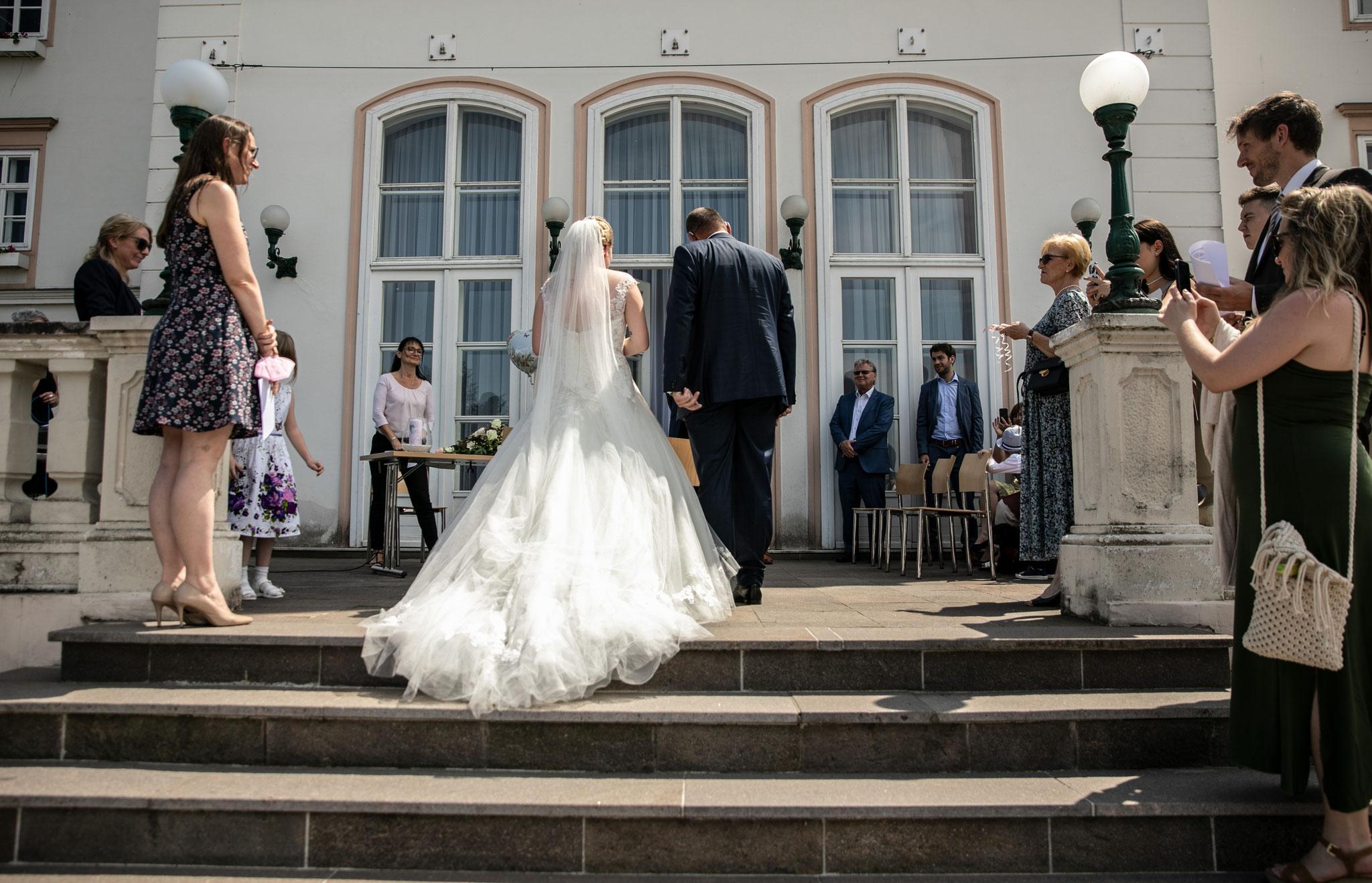 Hochzeit Standesamt Tulln outdoor