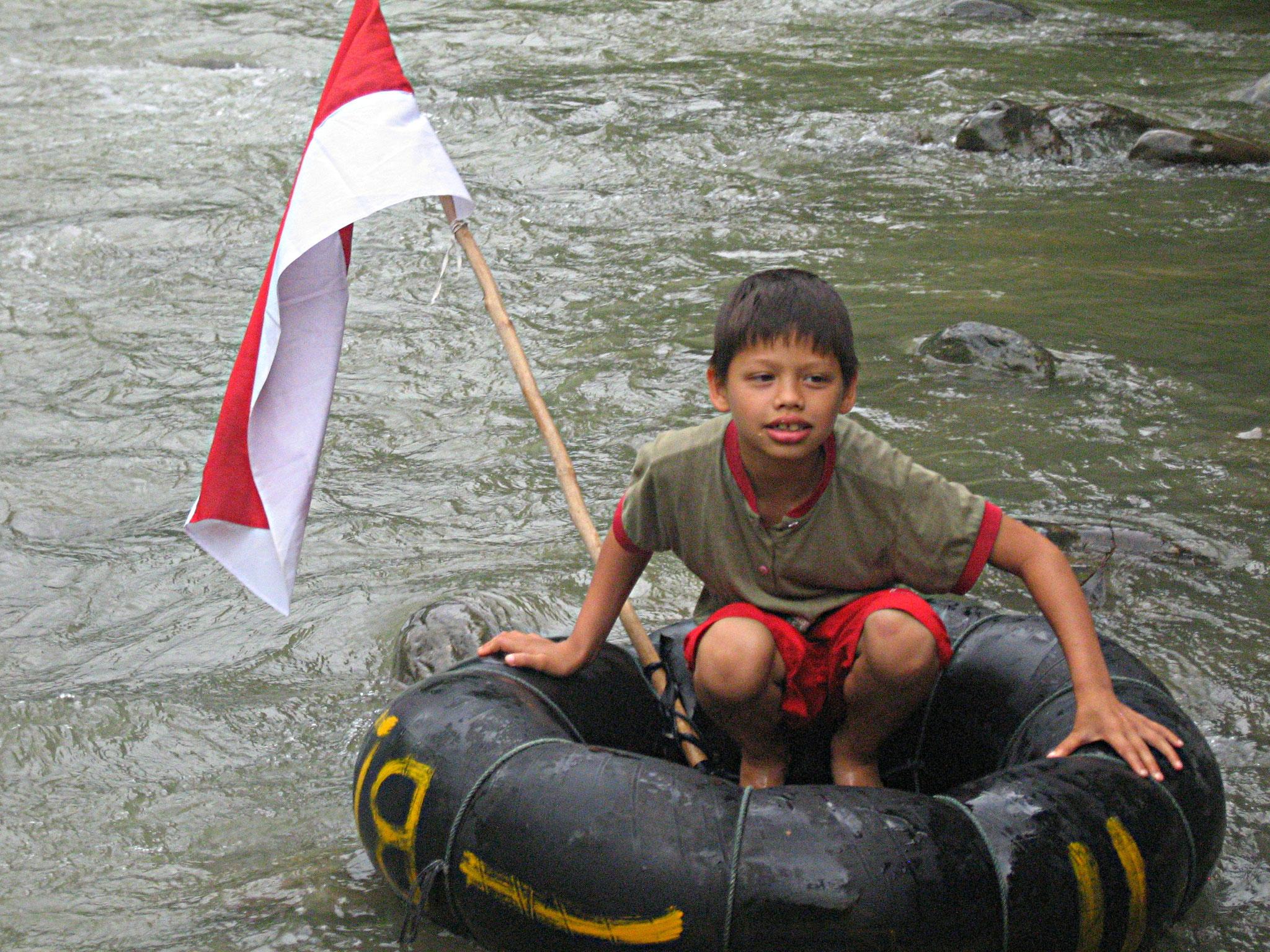 tubing in Bukit Lawang