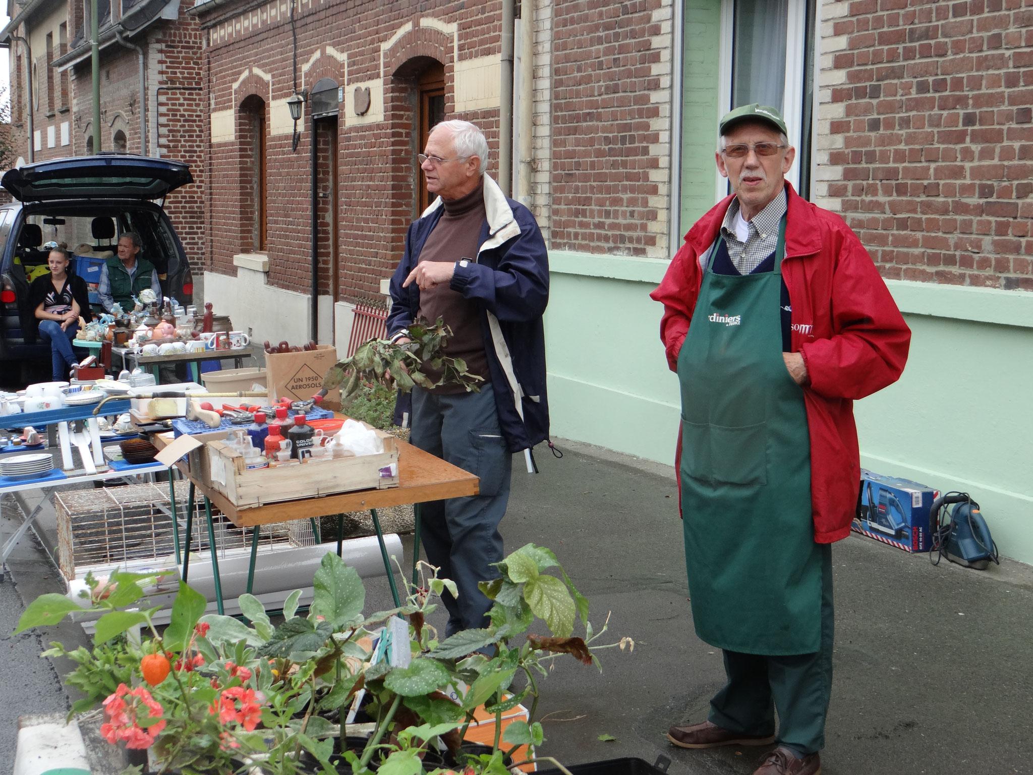 Gérard le jardinier accueillait ...