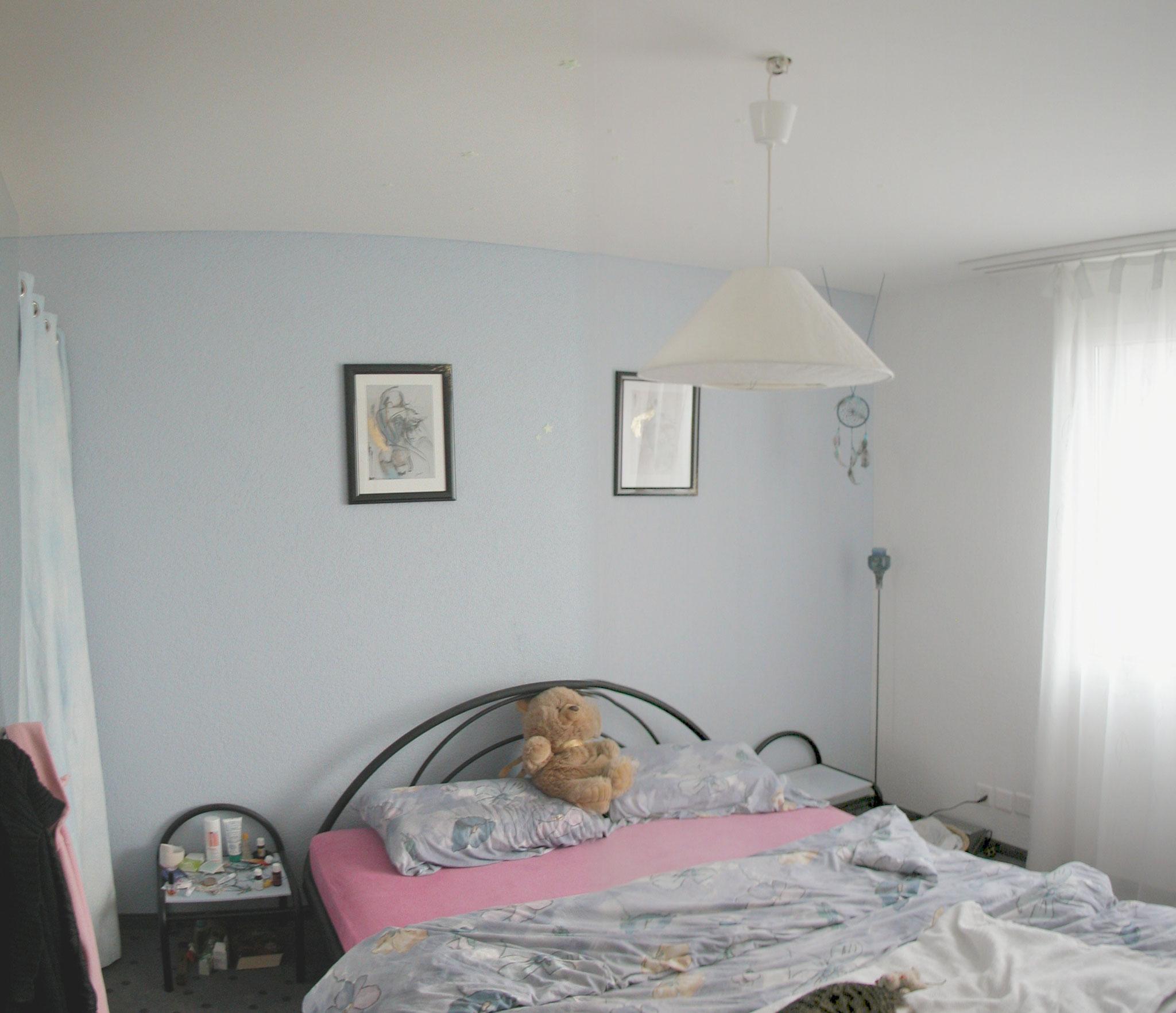 schlafenzimmer vorher