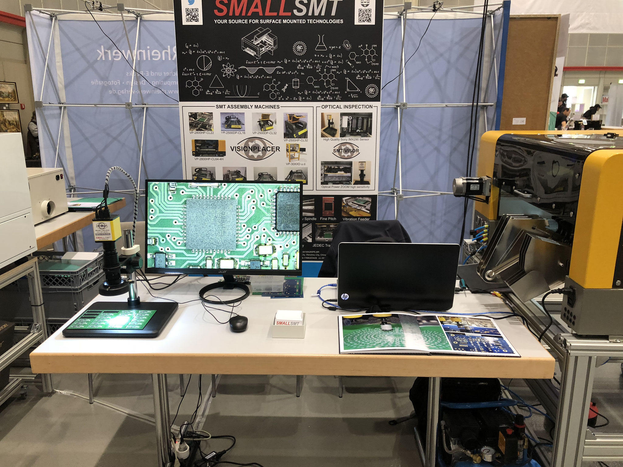 SMTV-IMX290-1 high image quality pcb inspection system using fast auto focus