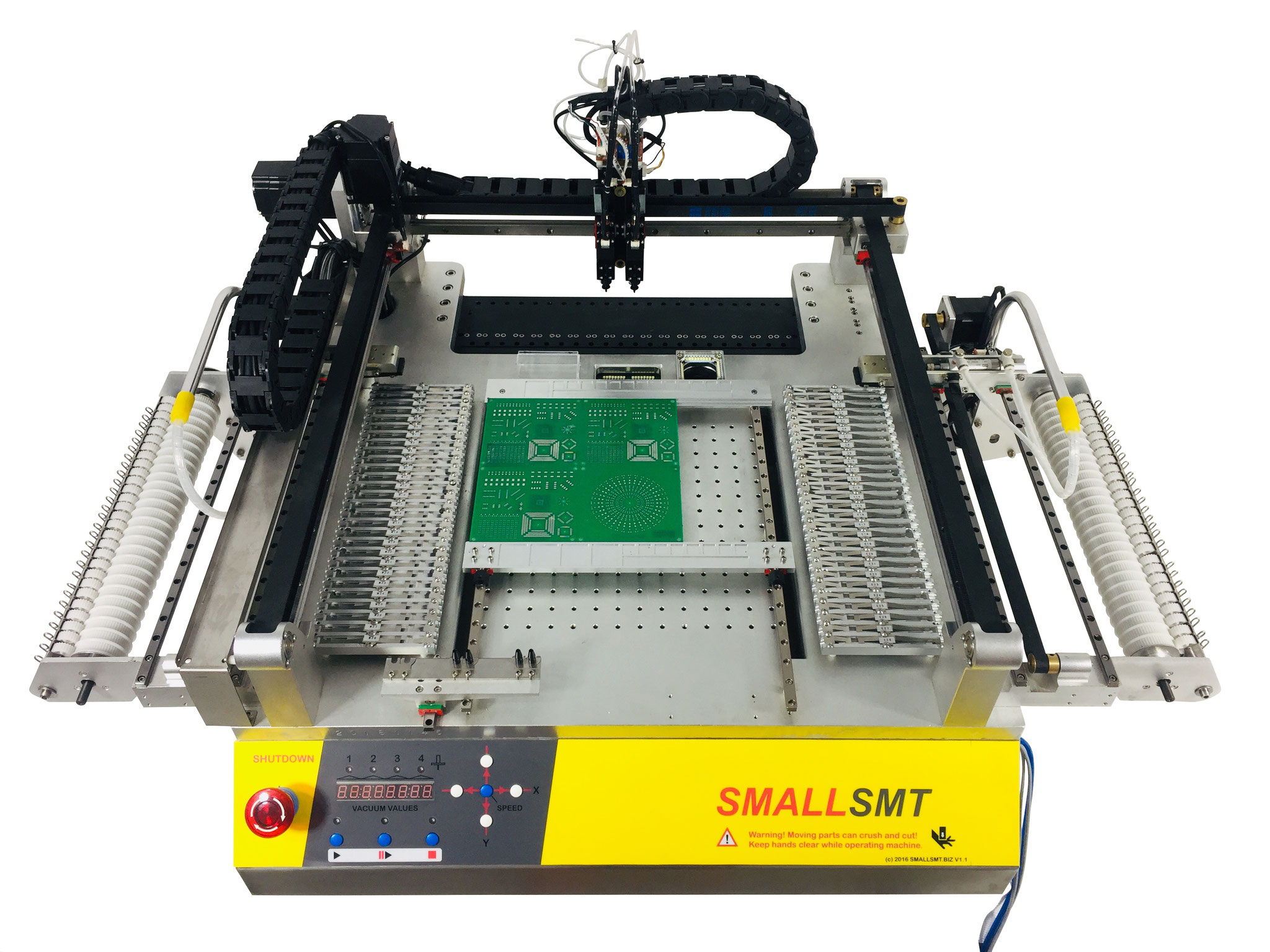 Pick and place machine - SMALLSMT Vision Placer