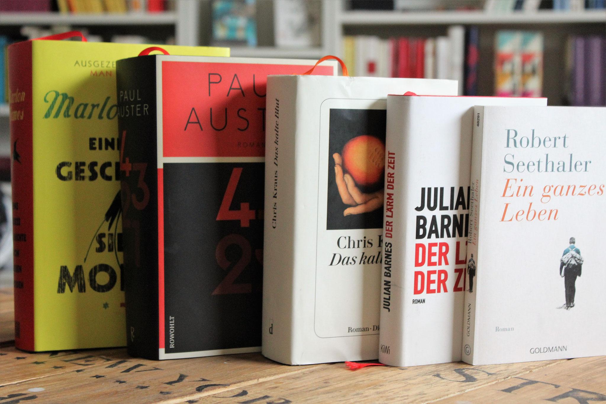 Die fünf besten Romane des Jahres!