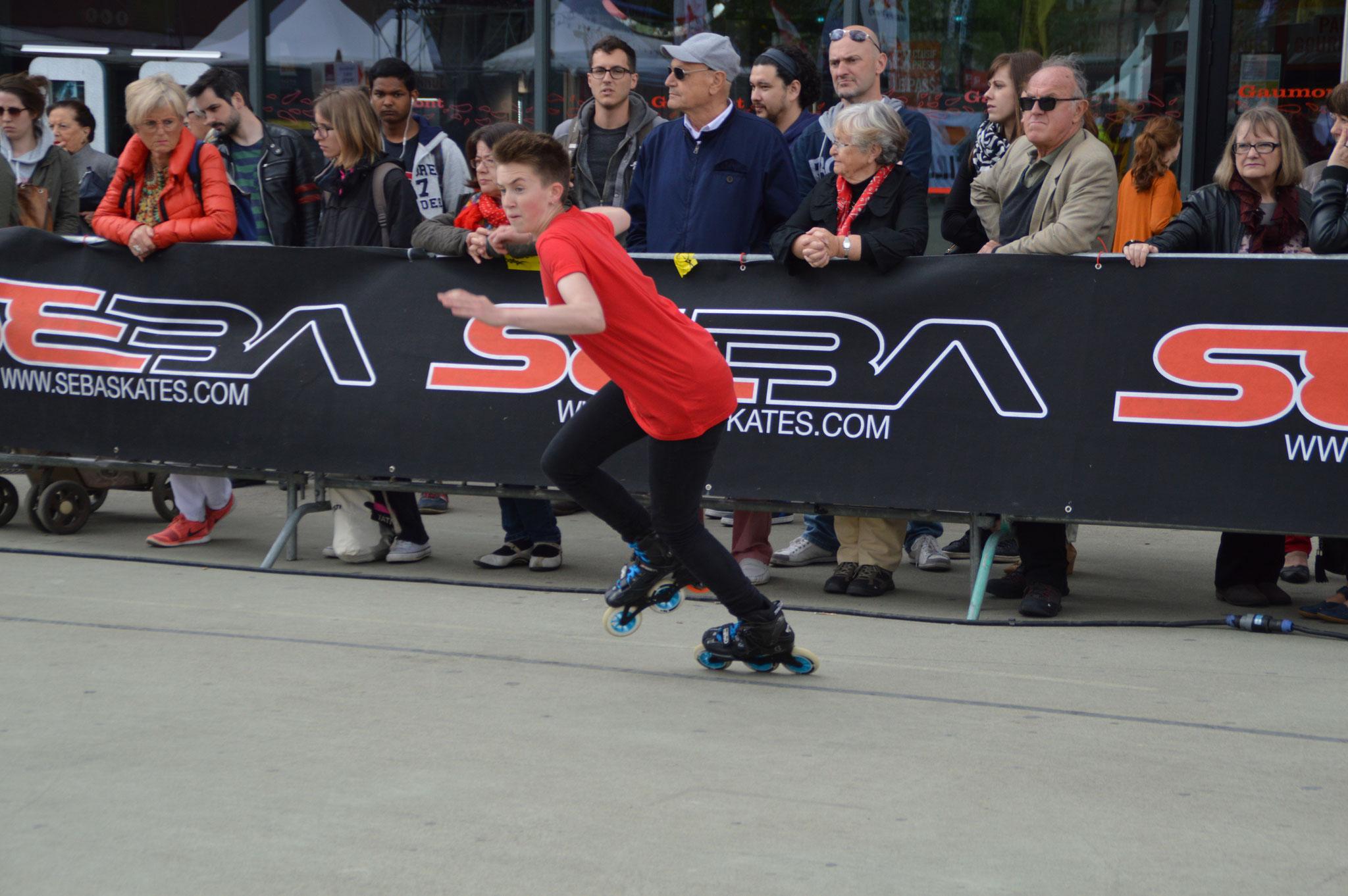 ROOL - Lily Granjon - Départ en slalom vitesse