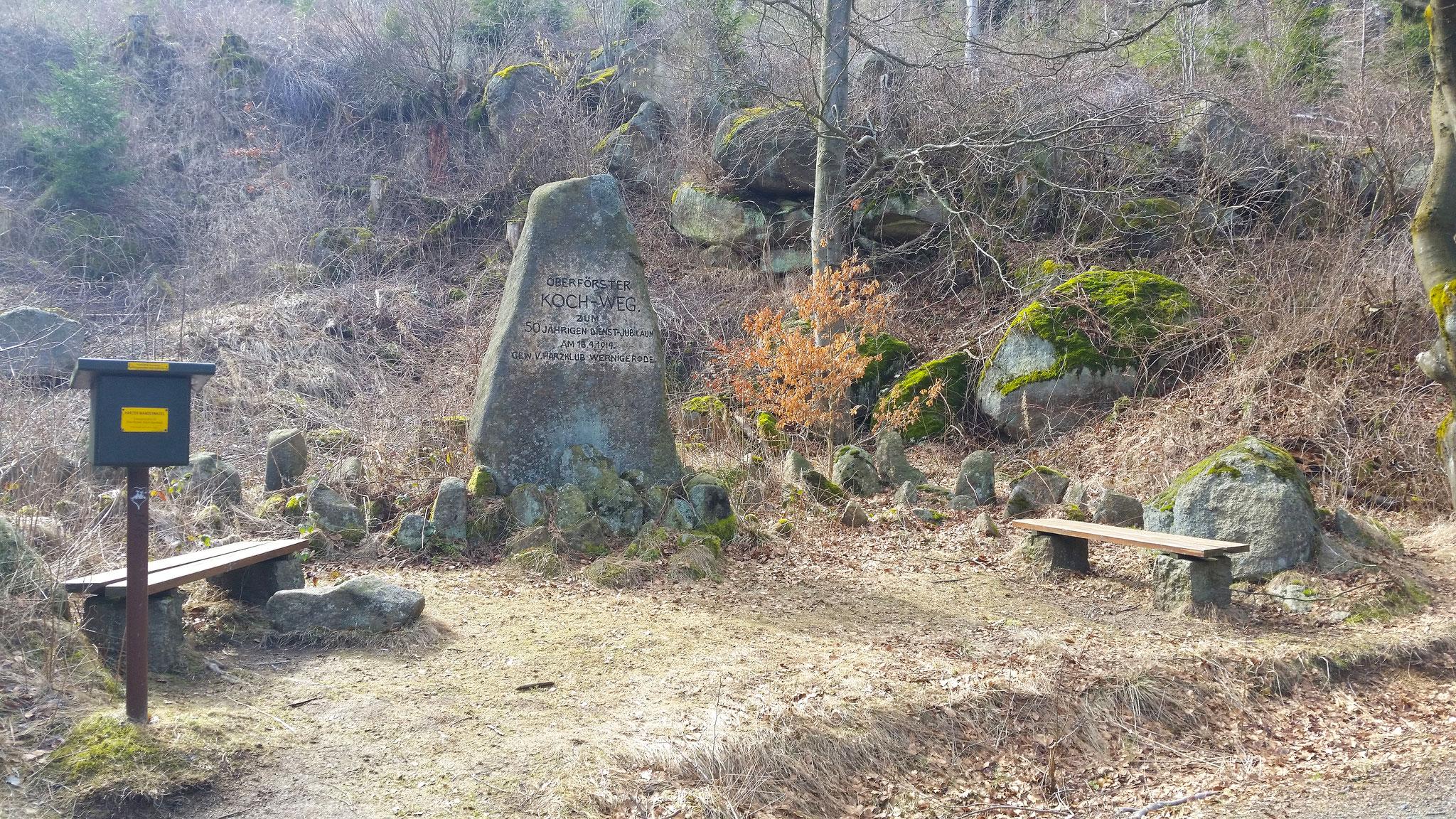 HWN 025 Oberförster-Koch-Denkmal