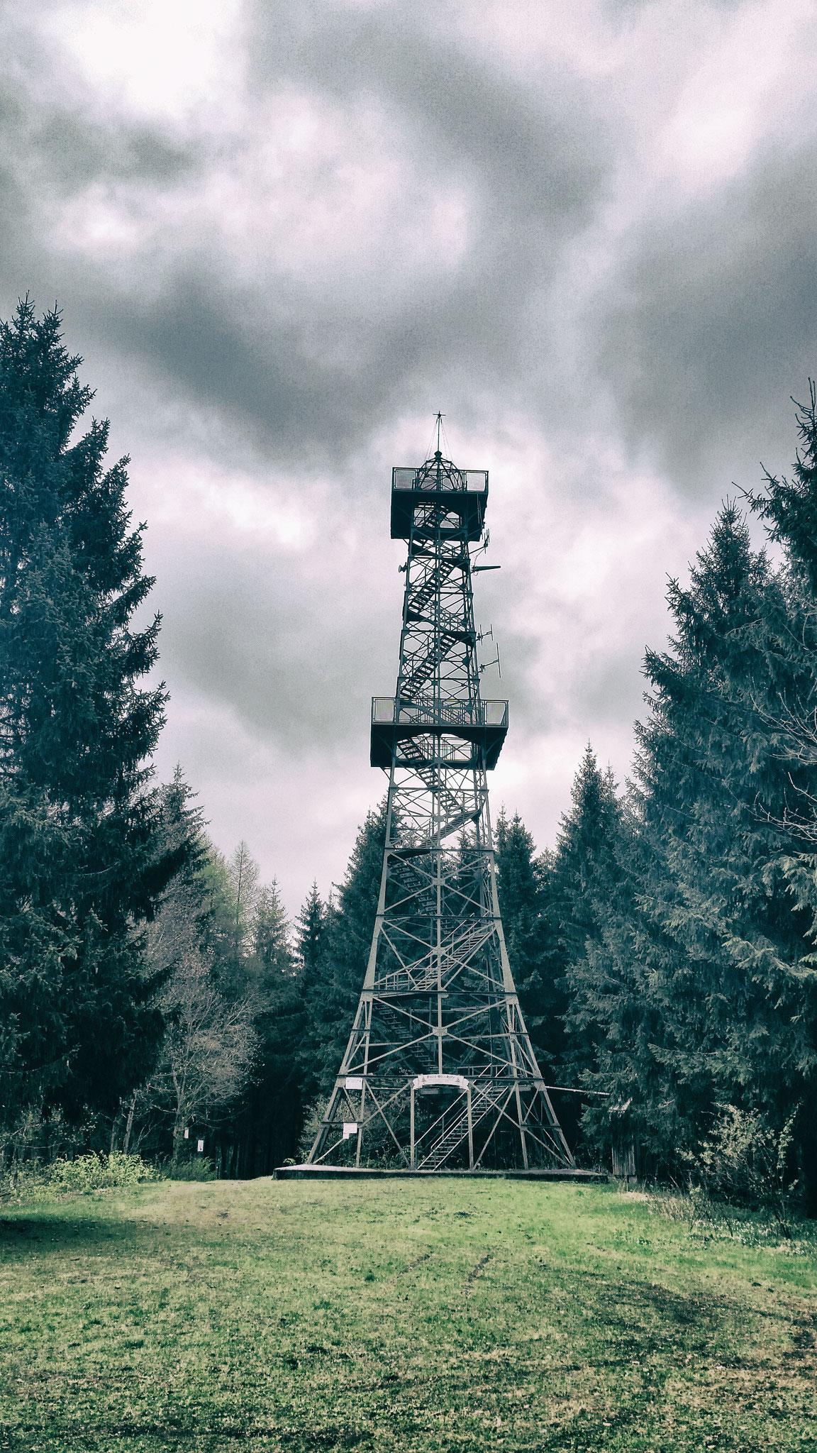 HWN 092 Poppenberg mit Aussichtsturm