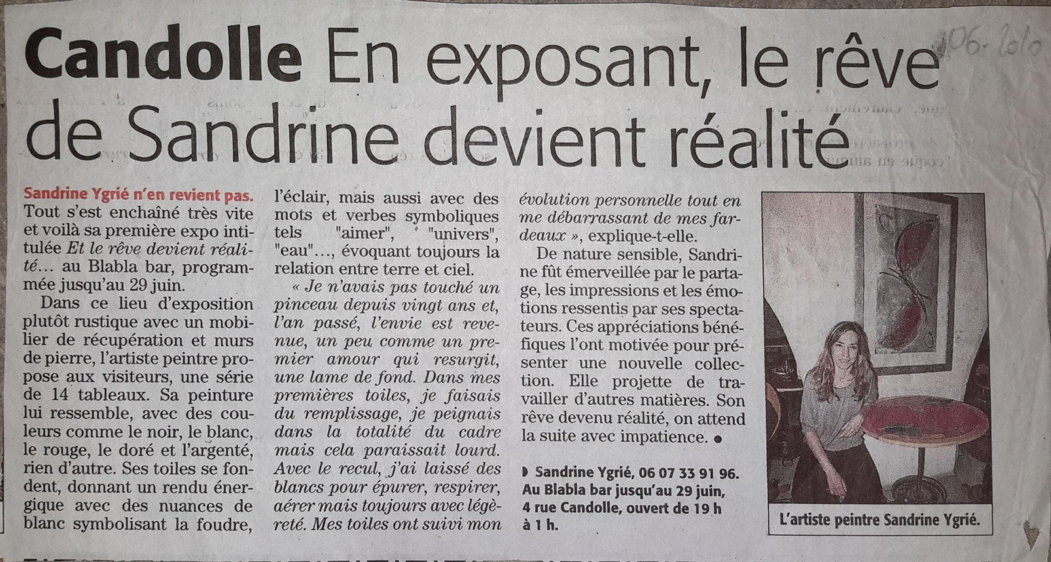 Article Midi-Libre 06/2010