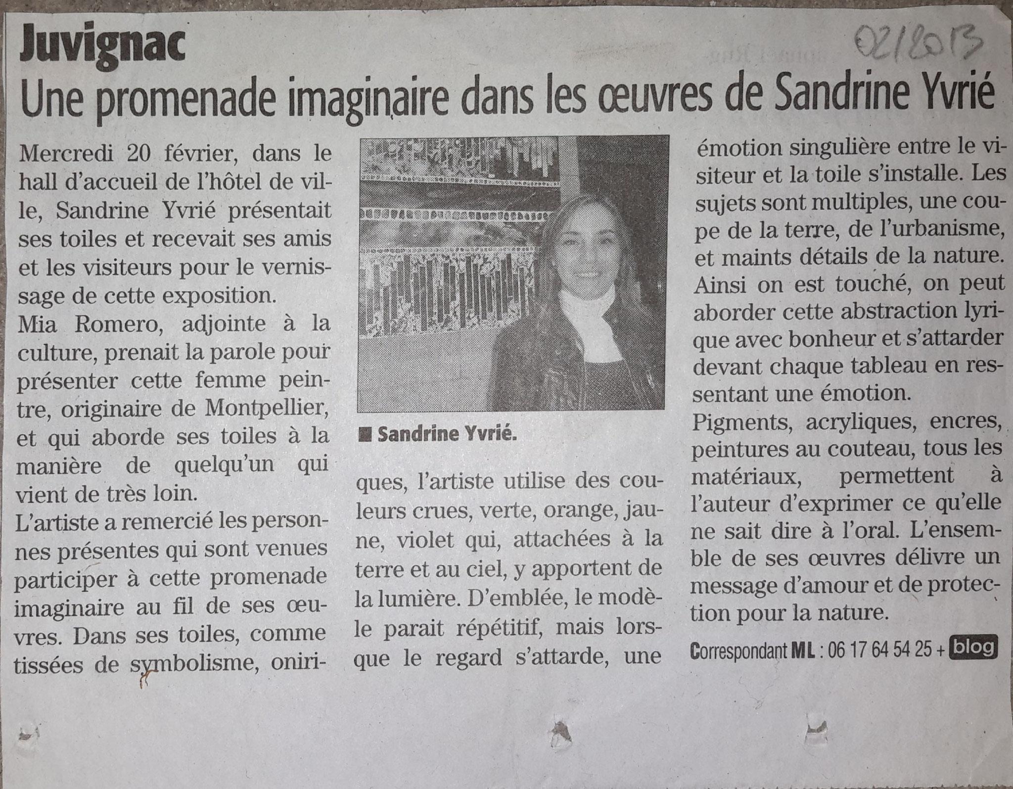 Midi-Libre  - 02/2013