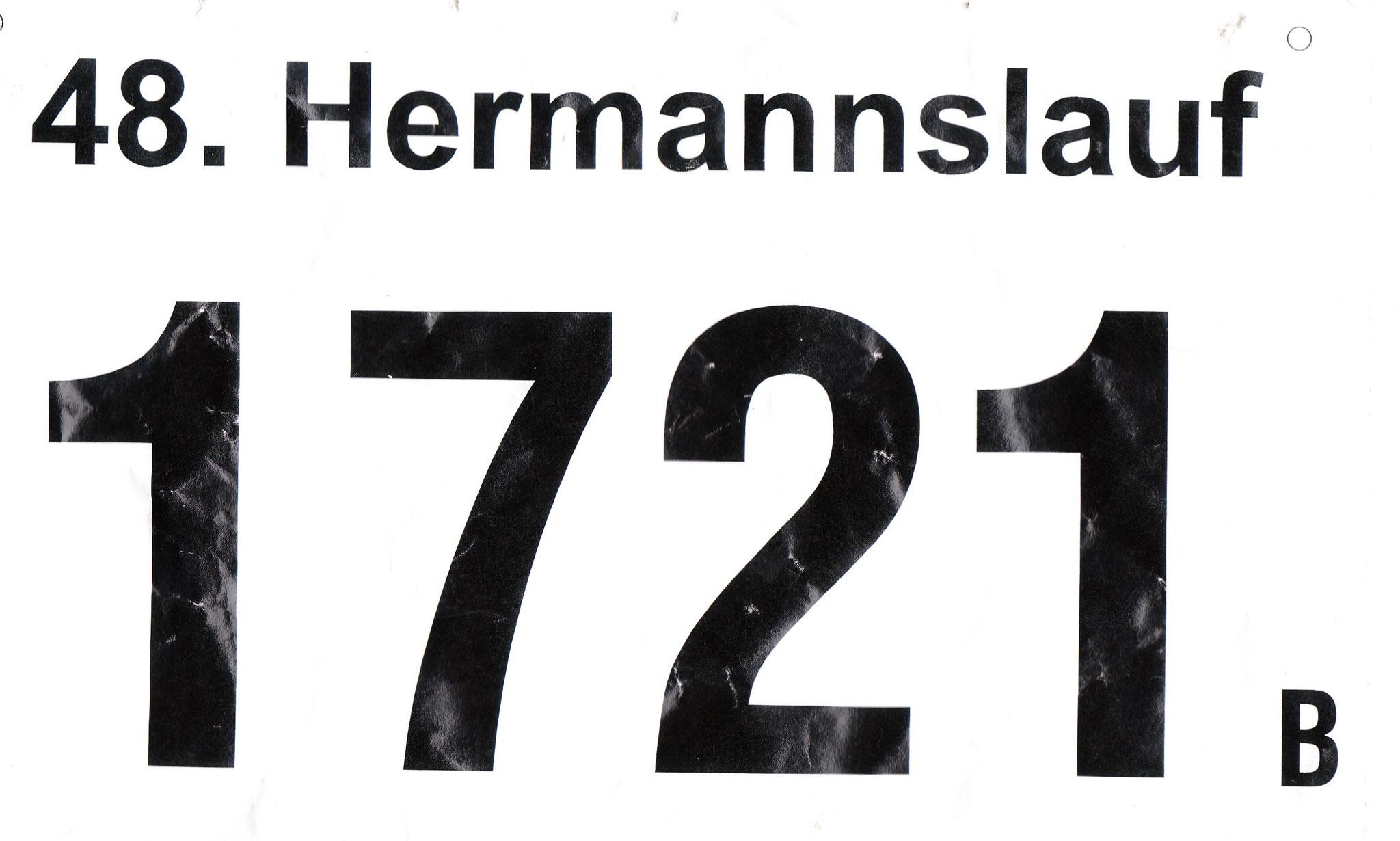 Hermannslauf 2019 - Startnummer
