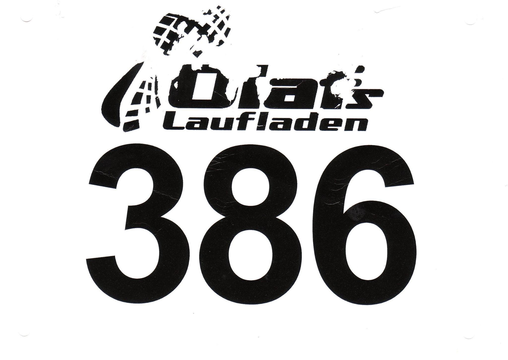 Volkslauf Harsewinkel (Halbmarathon) 2017 - Startnummer