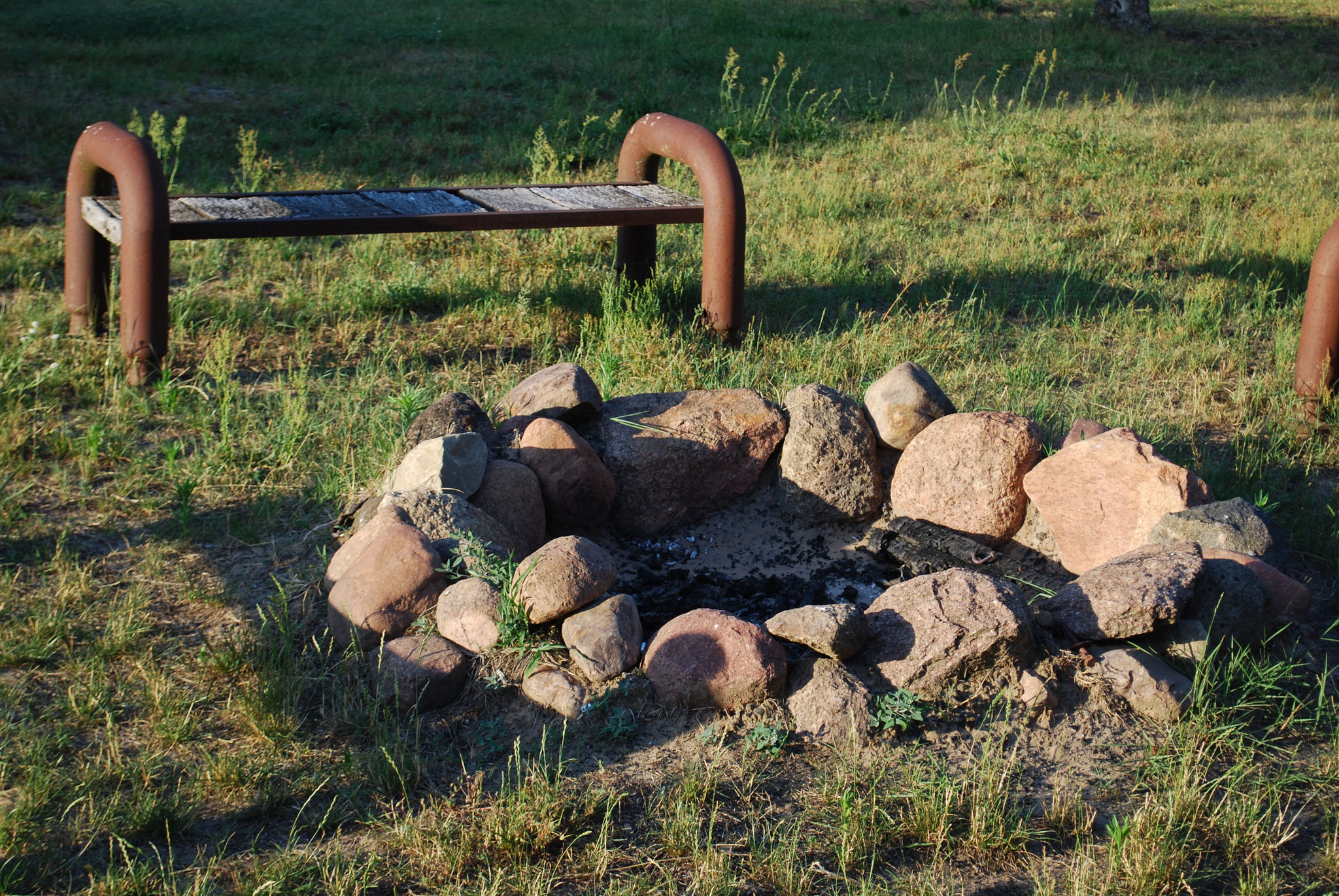 Lagerfeuerplatz an der Sommerbar