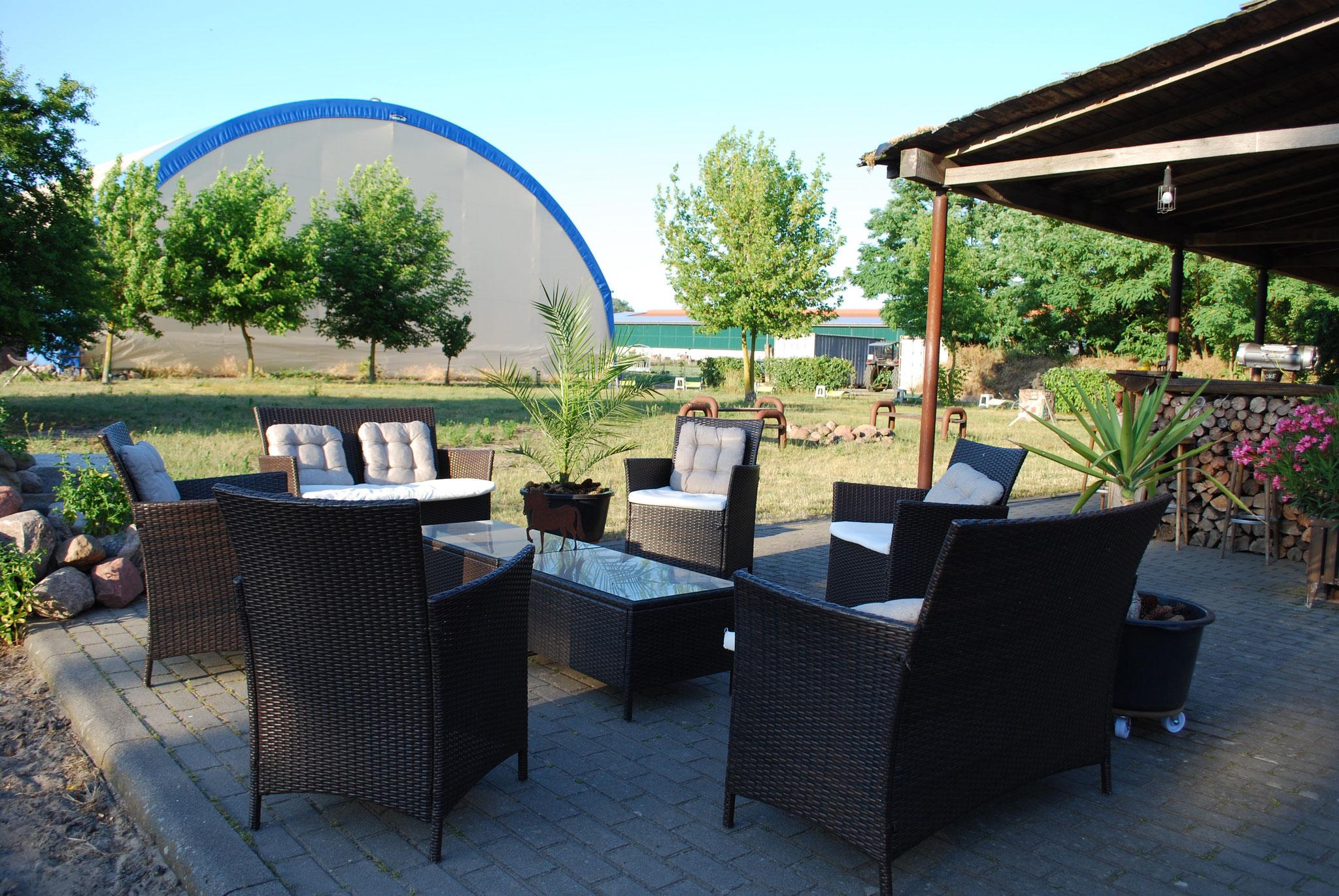 Loungebereich Sommerbar