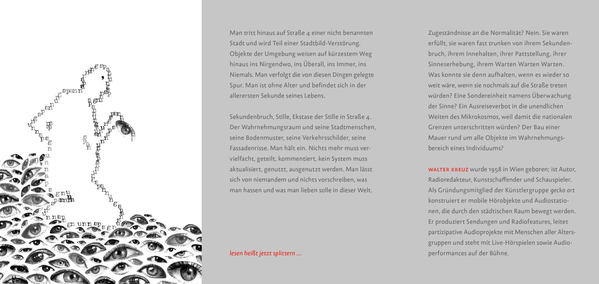 SEKUNDENBRUCH AUF STRASSE 4 – Flyer – Seite 2