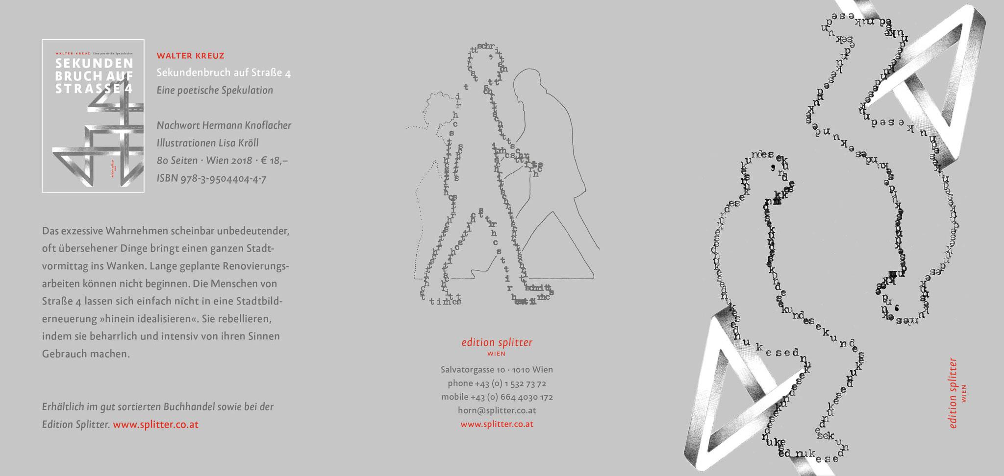 SEKUNDENBRUCH AUF STRASSE 4 – Flyer – Seite 1