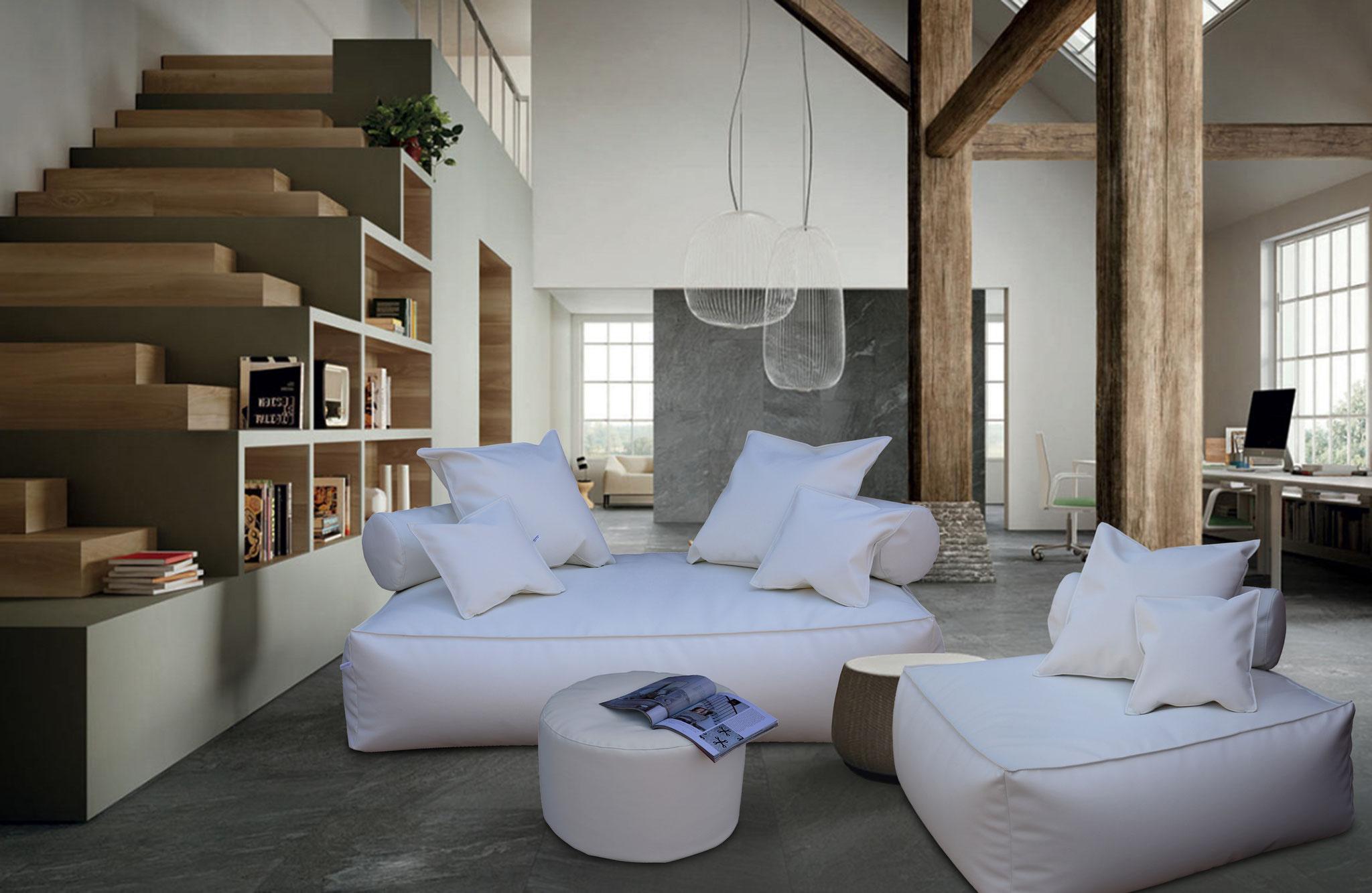 Divano panama filippo ghezzani arredamento on line poltrone e divani sacco arredamento di - Divano 170 cm ...