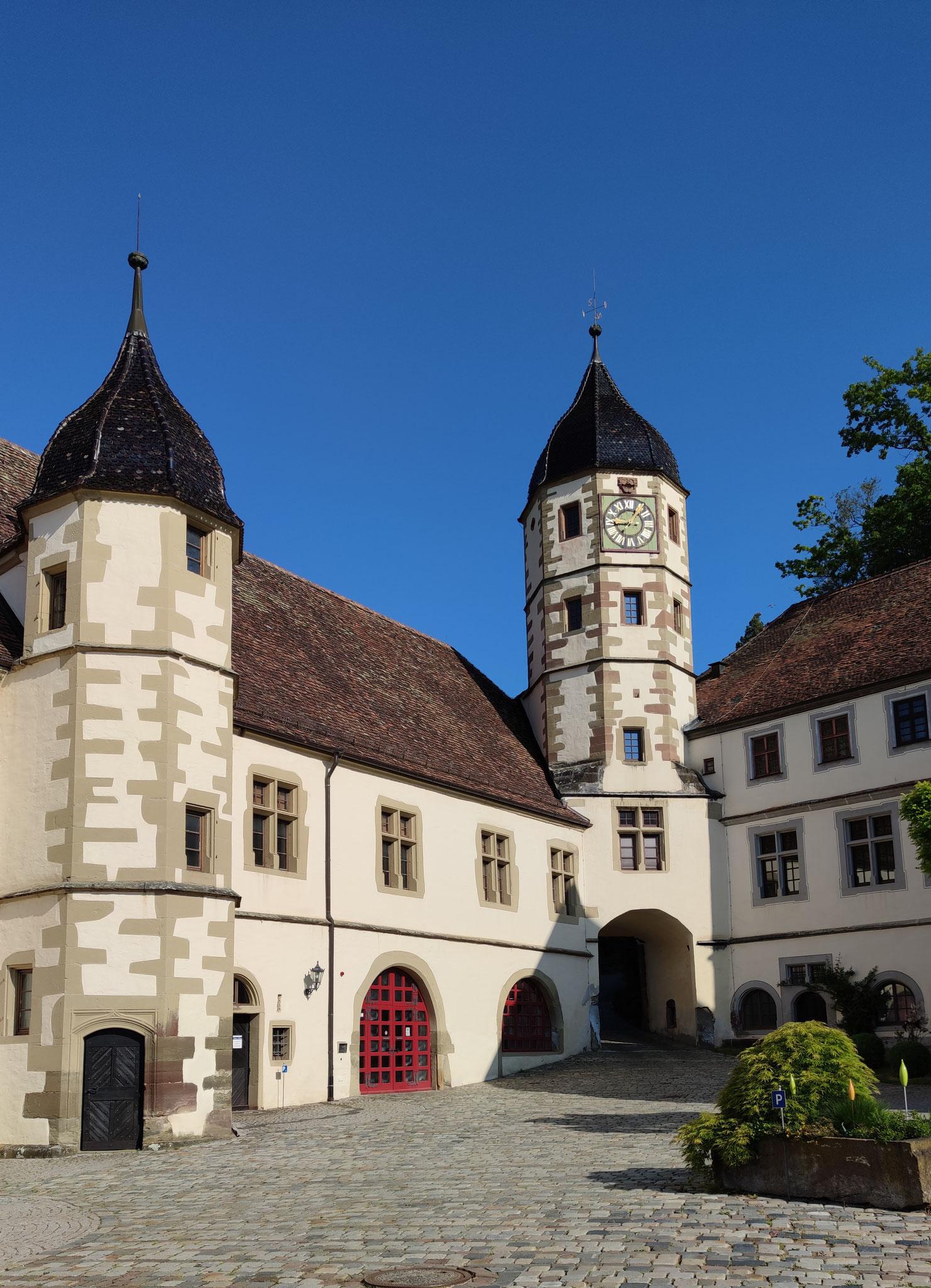 Schloss Haigerloch vom Schlosshof
