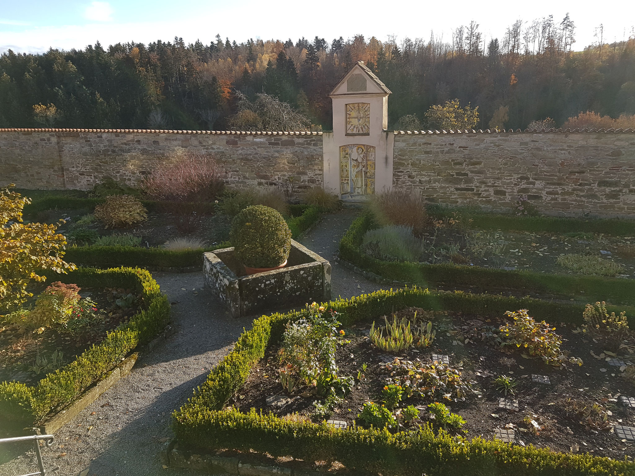 Parkanlage des Kloster Kirchberg in Haigerloch