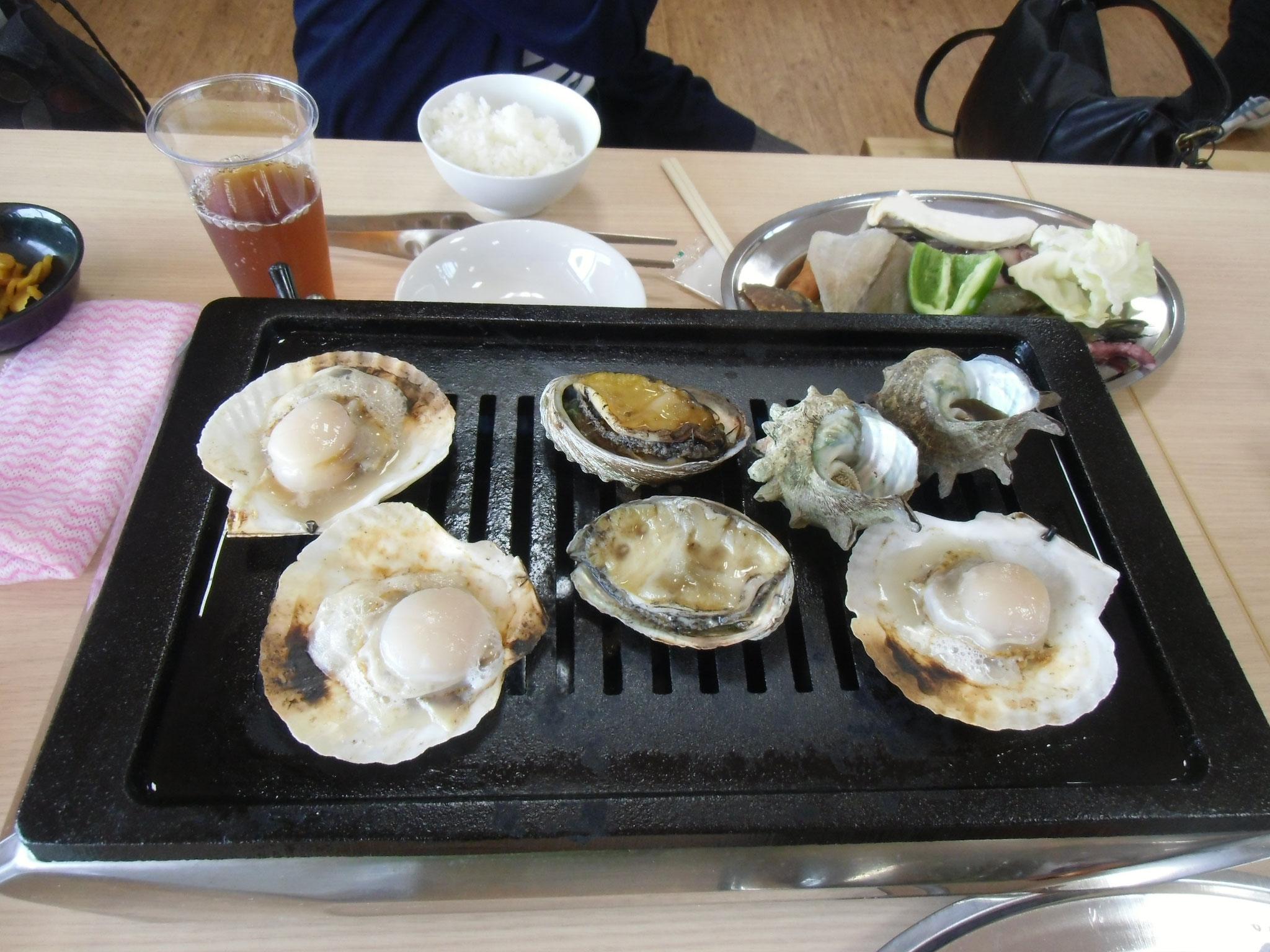 海の駅千鳥苑海鮮バーべキュー(予約要)